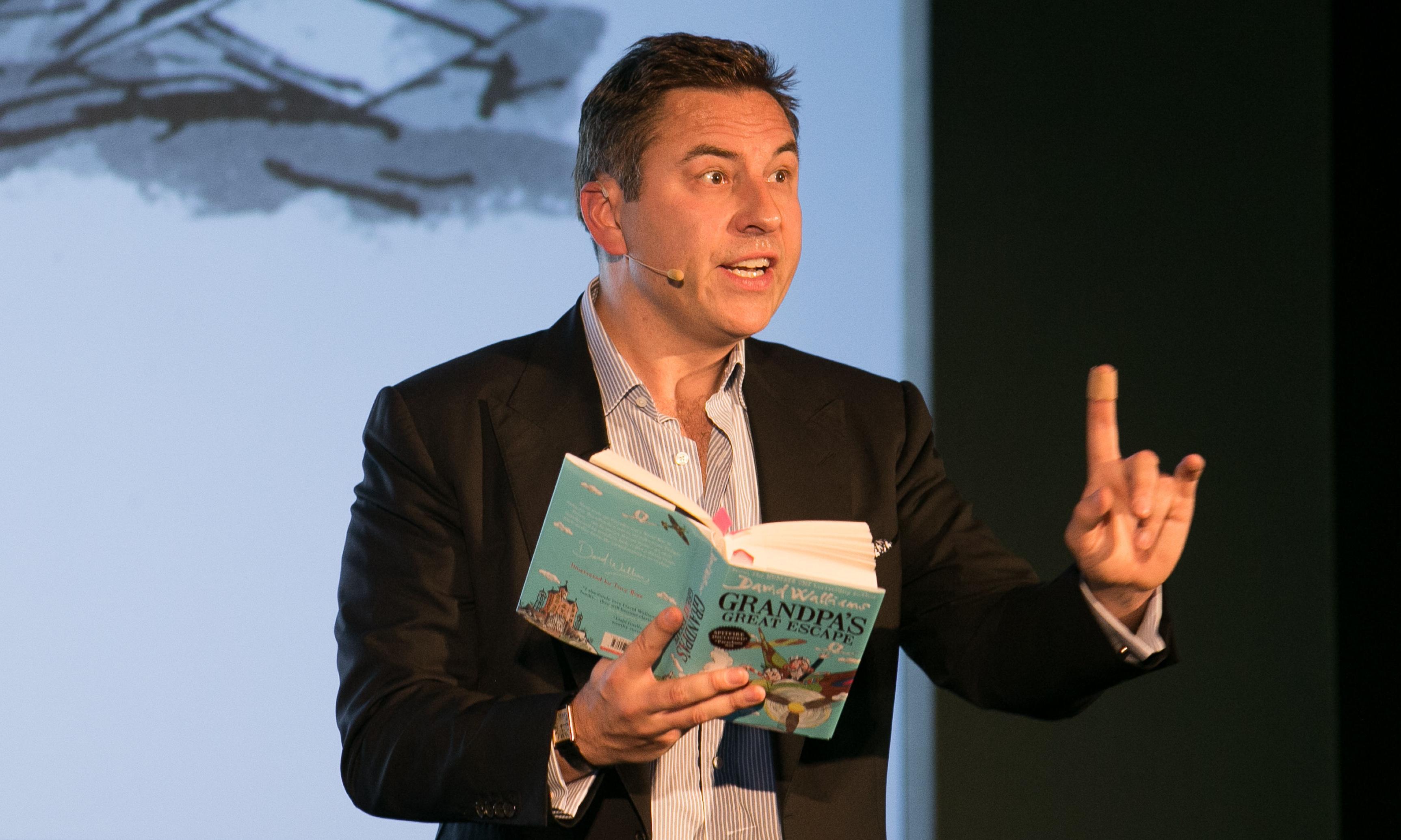 David Walliams calls for 'safeguarding' of libraries