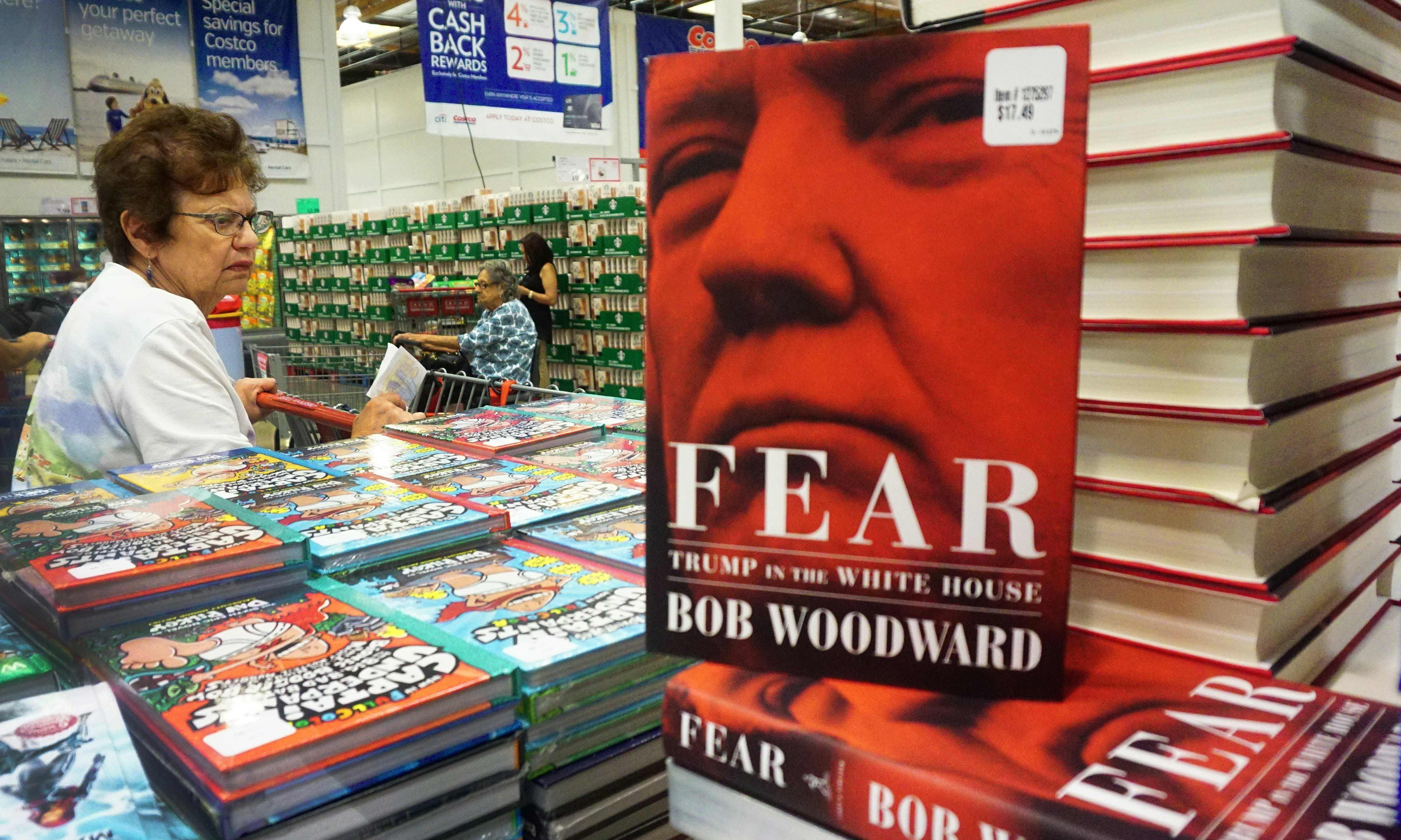 Bob Woodward's Fear sells more than 750,000 in first day