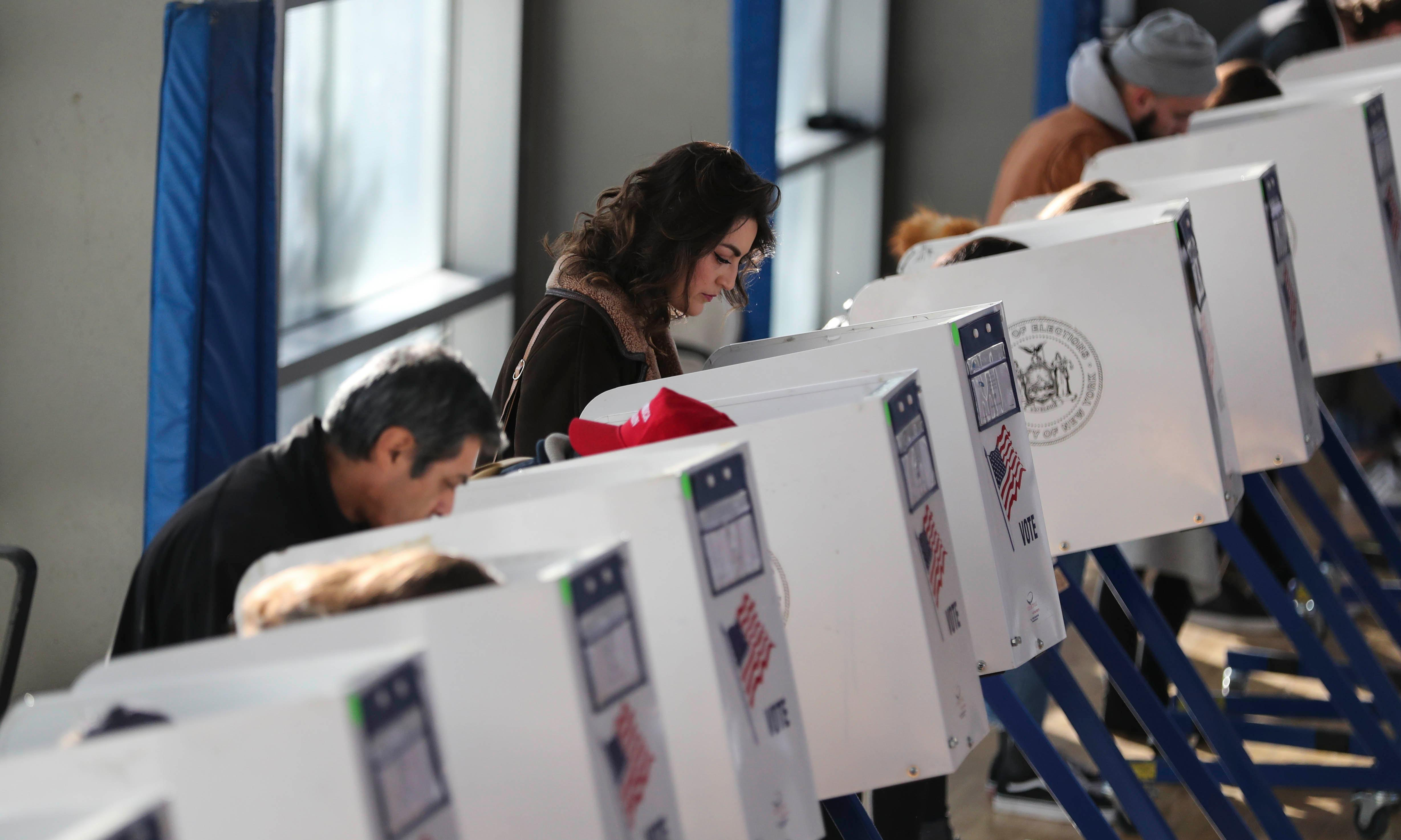 More than 1,000 US polling sites closed since supreme court ruling, report finds