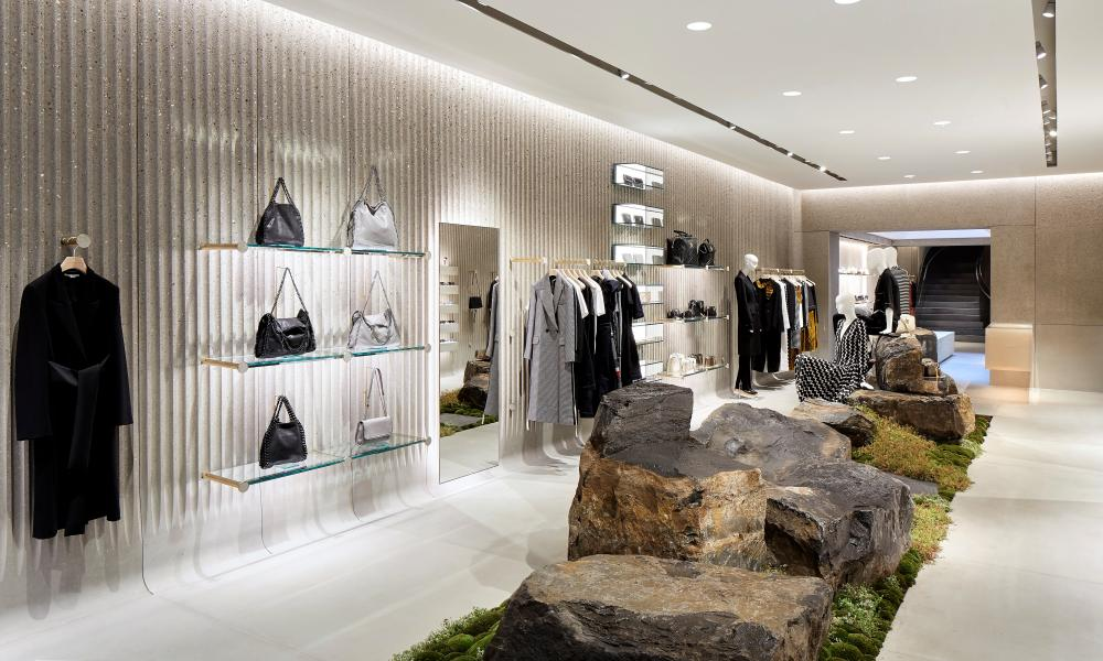'Moss doesn't really want to live on Bond Street. In a store': the flagship shop in Old Bond Street.