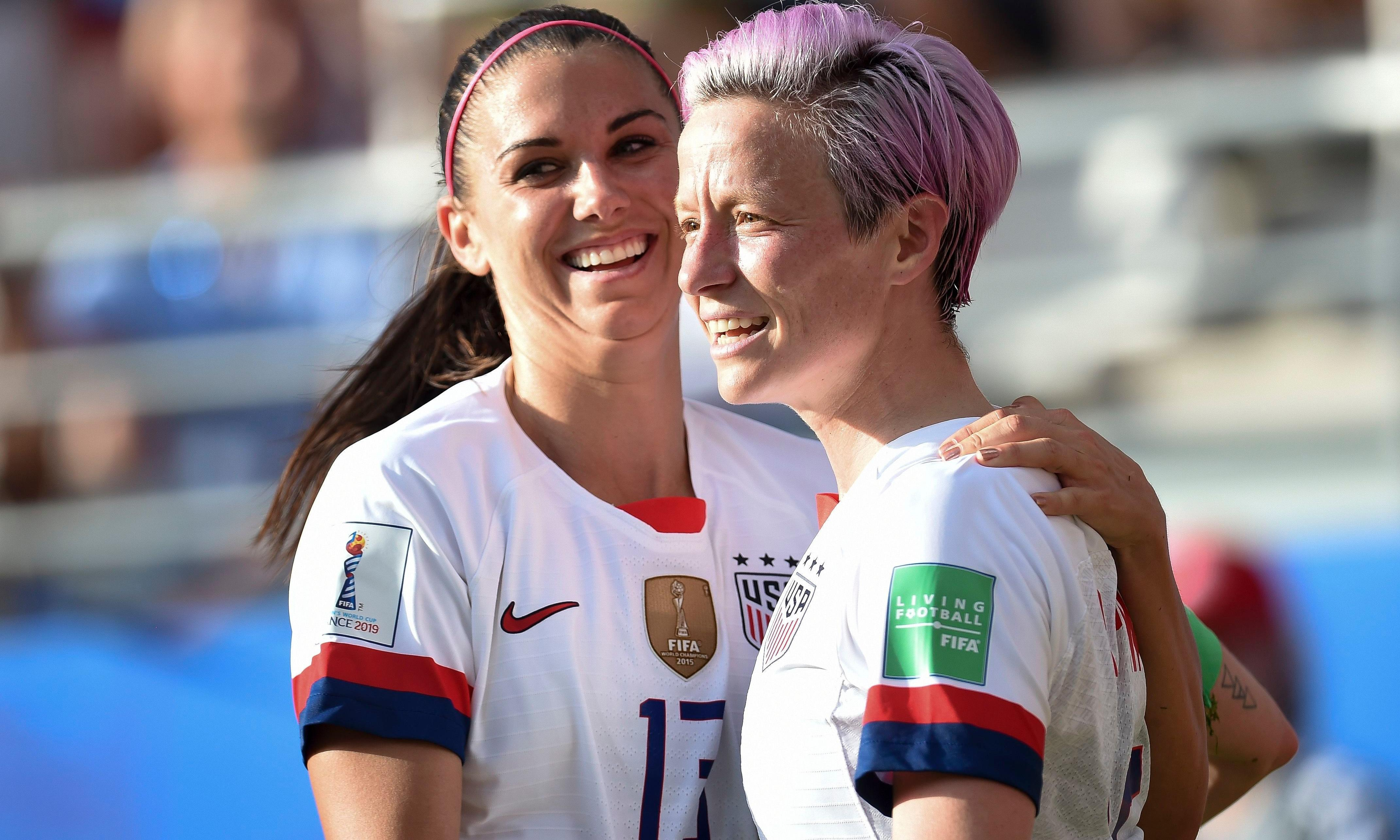 Donald Trump warns Megan Rapinoe not to 'disrespect' US flag at World Cup
