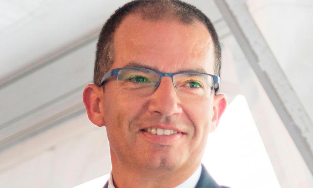 CEO of Moderna Stéphane Bancel.