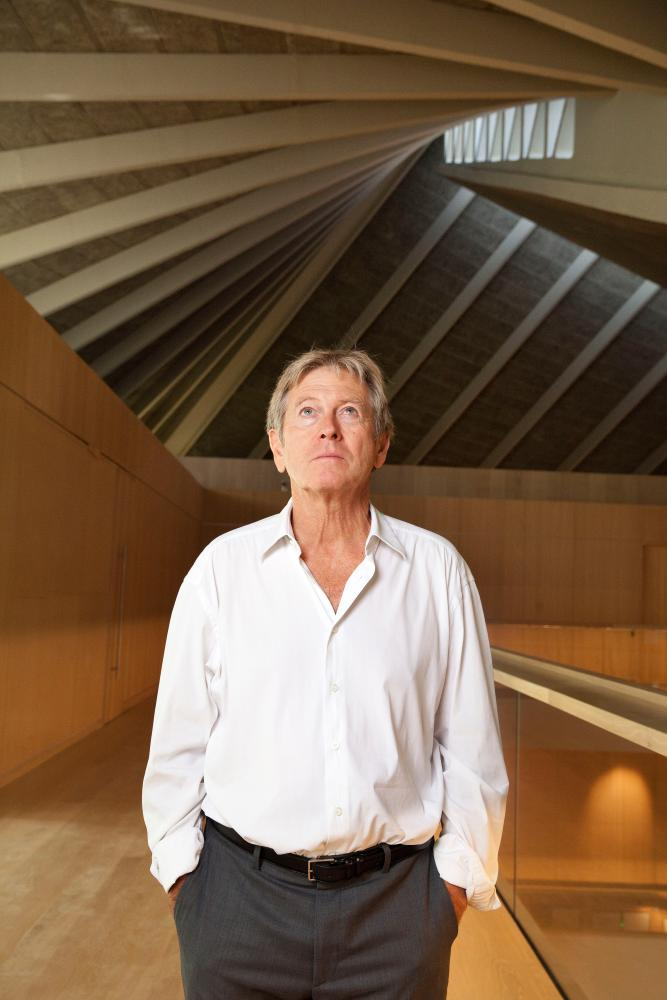 'The last thing you want to see is the architect's signature' … John Pawson amid his interior.