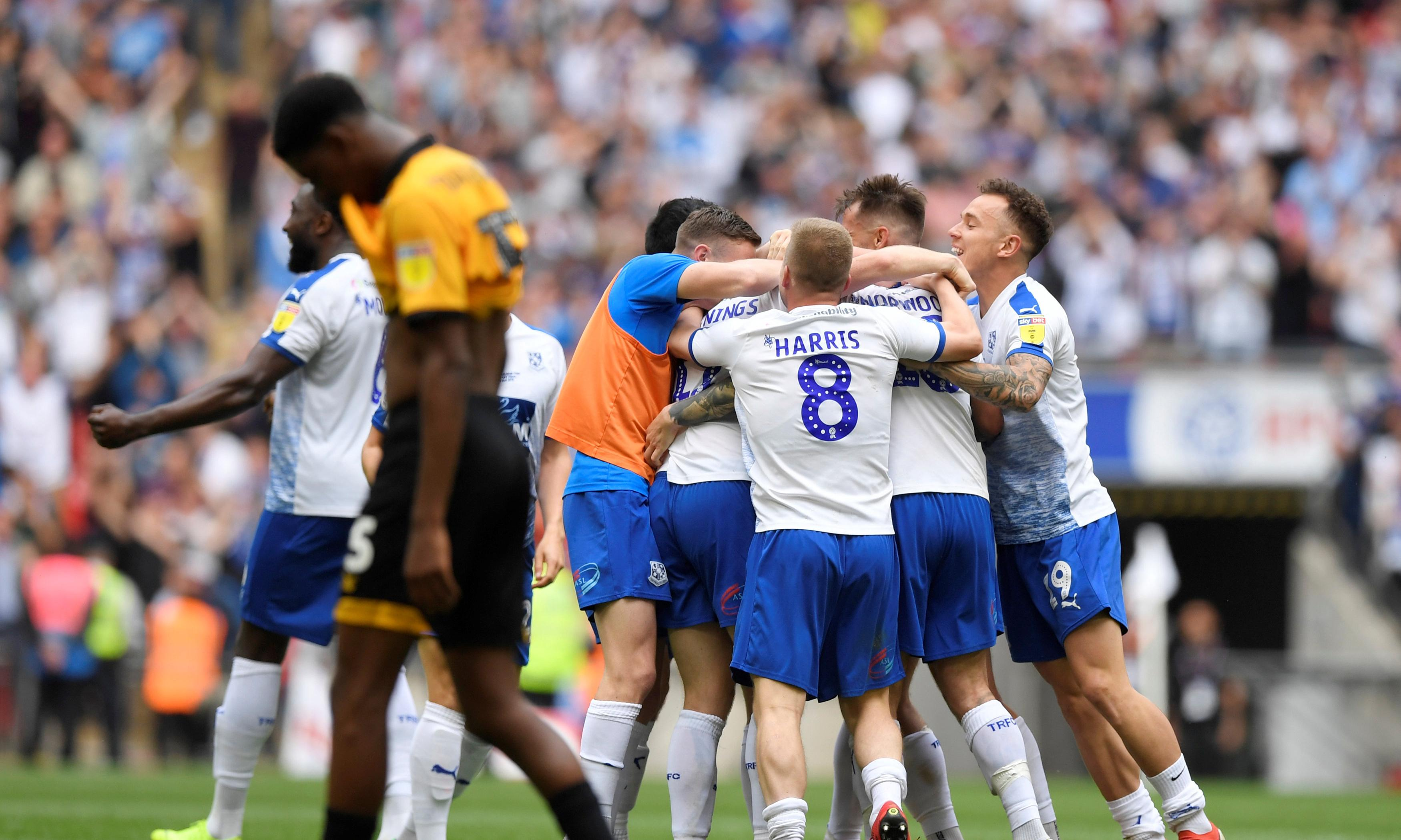 Connor Jennings heads Tranmere into League One with extra-time winner