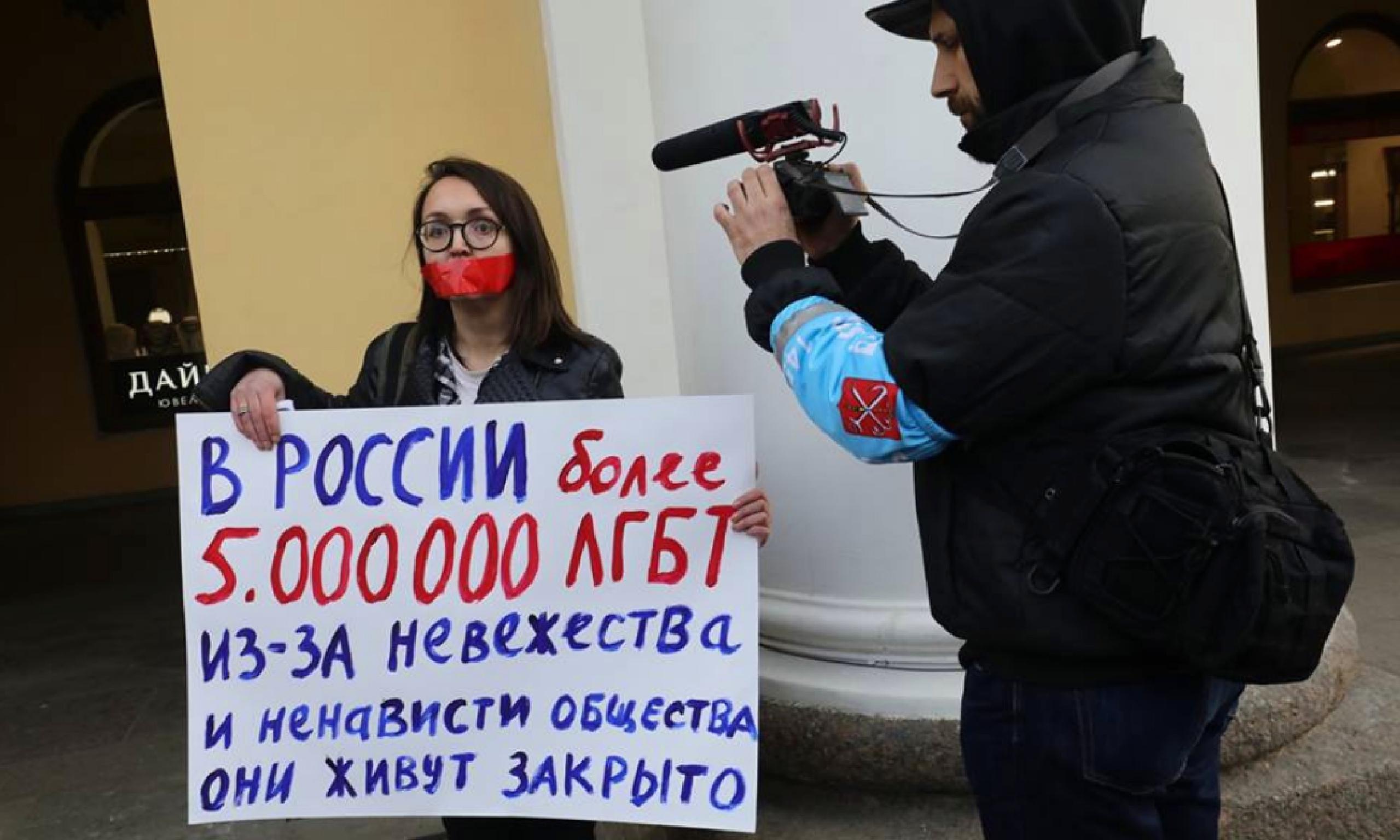 LGBT activist murdered in St Petersburg