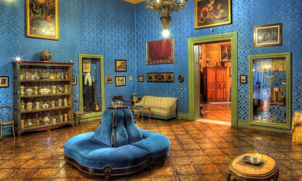 Palazzo Conte Federico - Blue Salon.