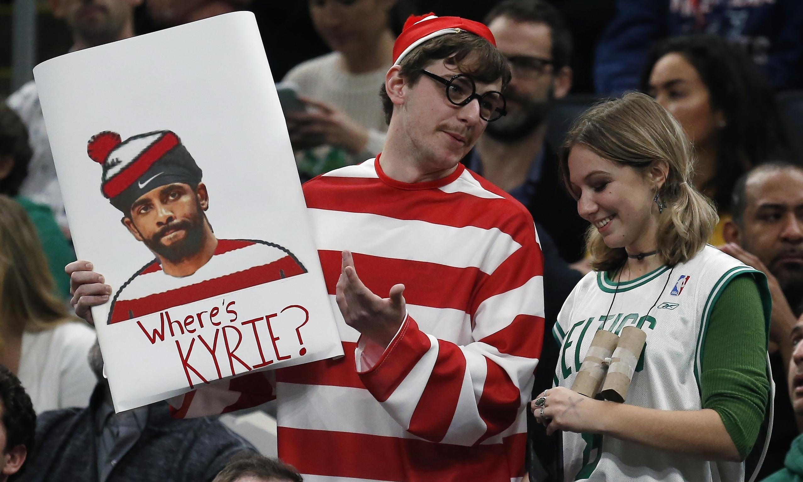 Kyrie Irving attacks 'ignorant' sports world after being booed by Celtics fans