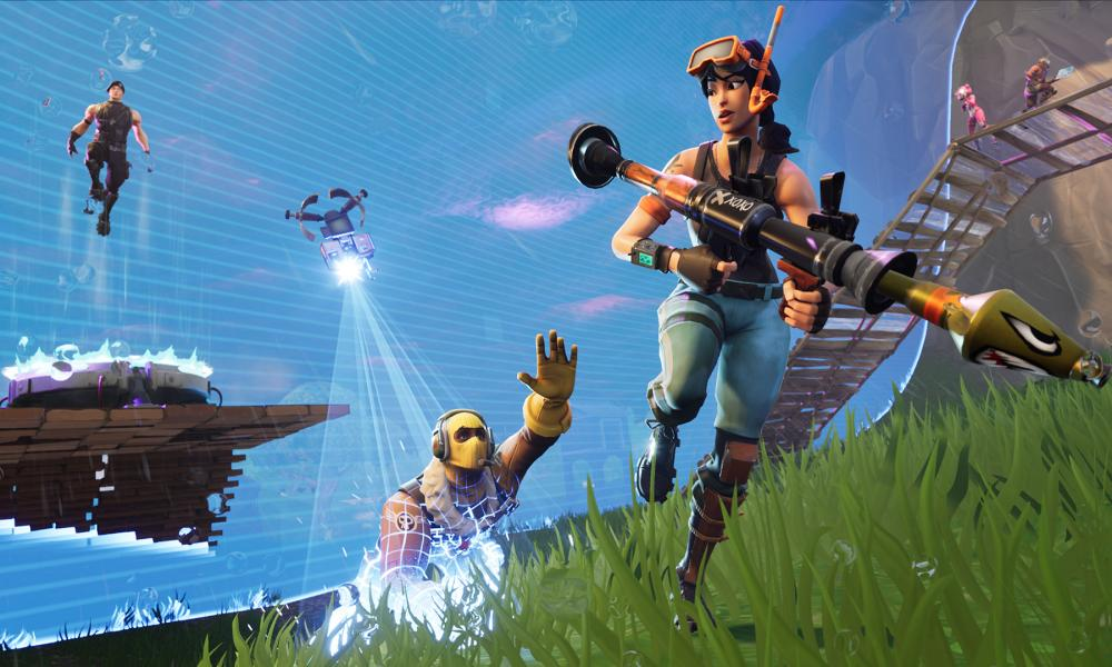 Still from Fortnite