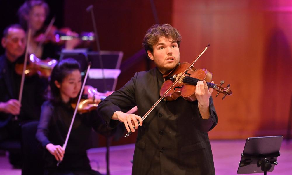 Timothy Ridout, viola, streamed live from the Barbican Hall on 25 April 2021.