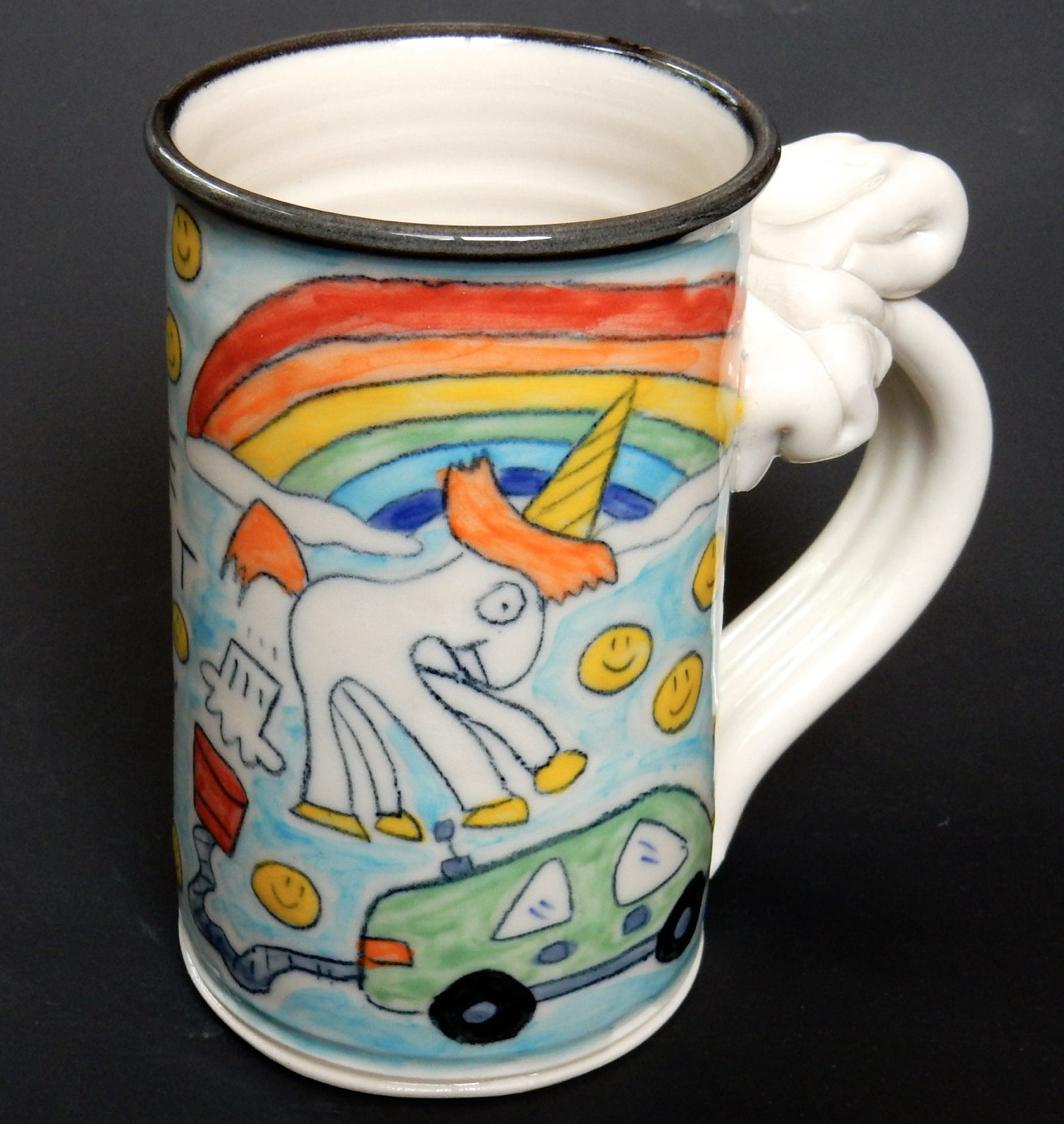 Elon Musk drawn into farting unicorn dispute with potter
