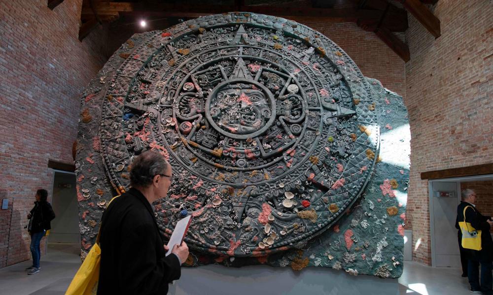 Calendar Stone by Damien Hirst.
