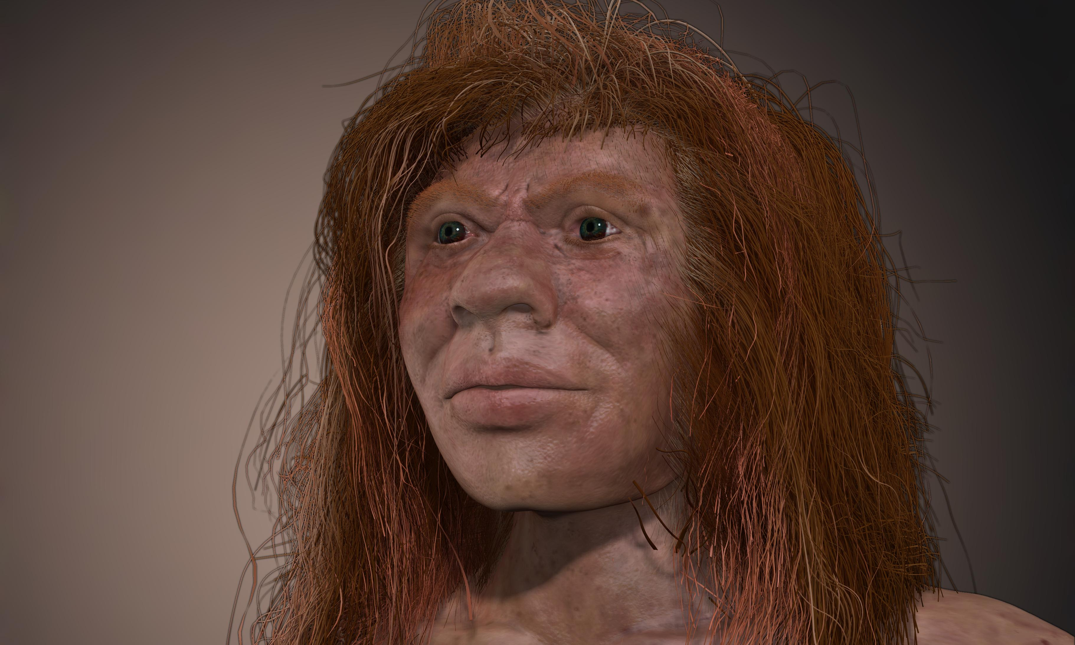 Meet Denny, the ancient mixed-heritage mystery girl