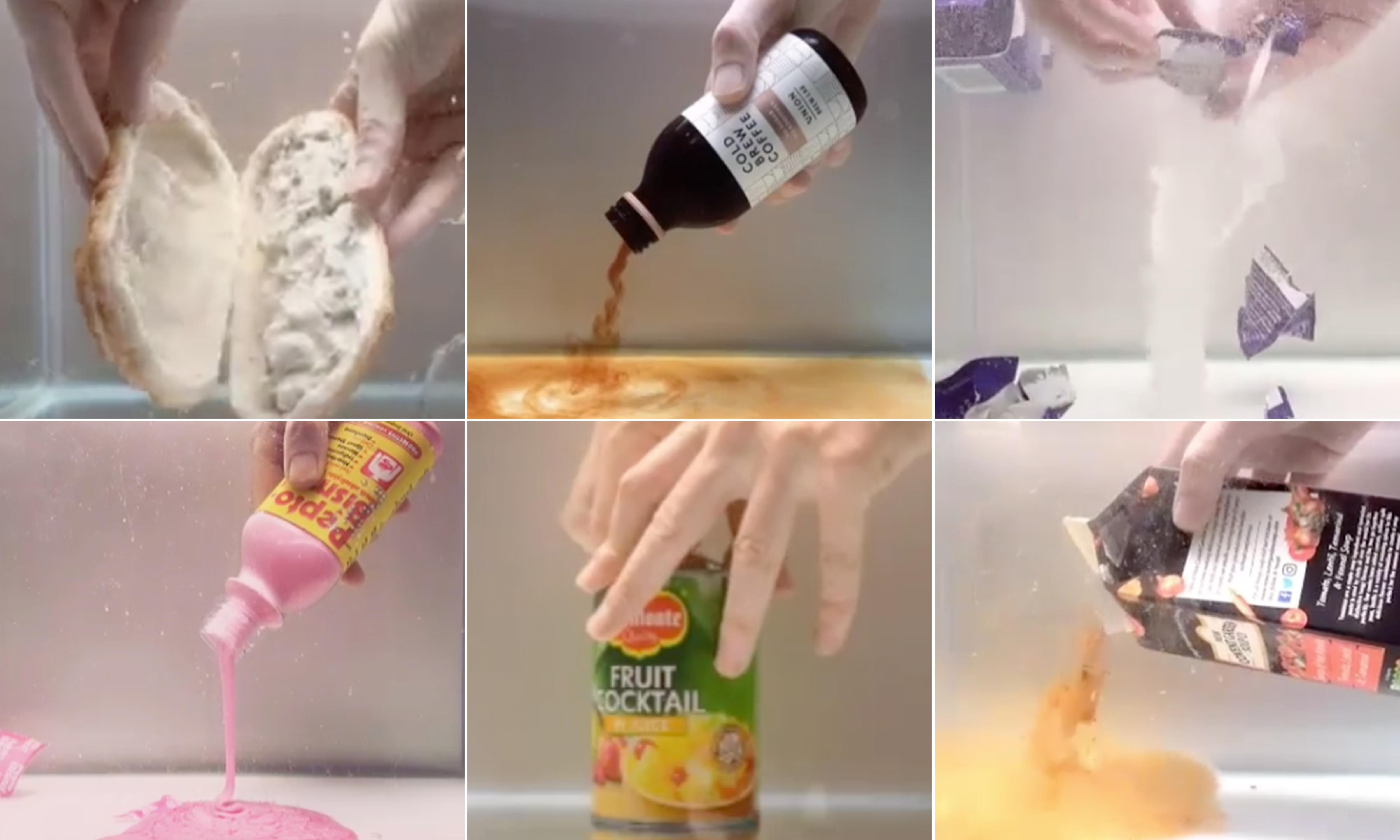 The underwater art of 'wet unboxing': why it's so mesmerising, unsettling and weirdly emotional