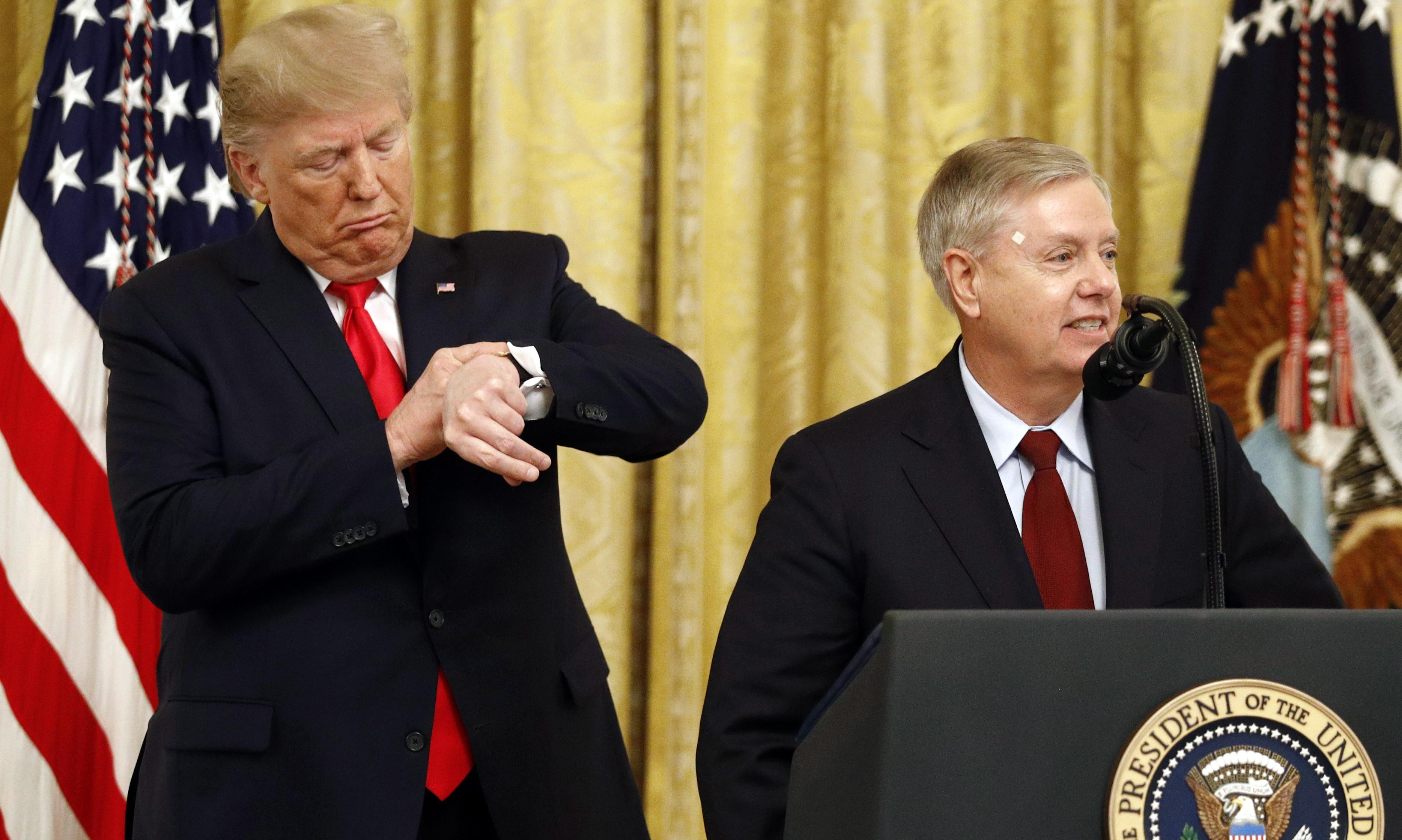 Trump impeachment: Lindsey Graham will 'not pretend to be a fair juror'