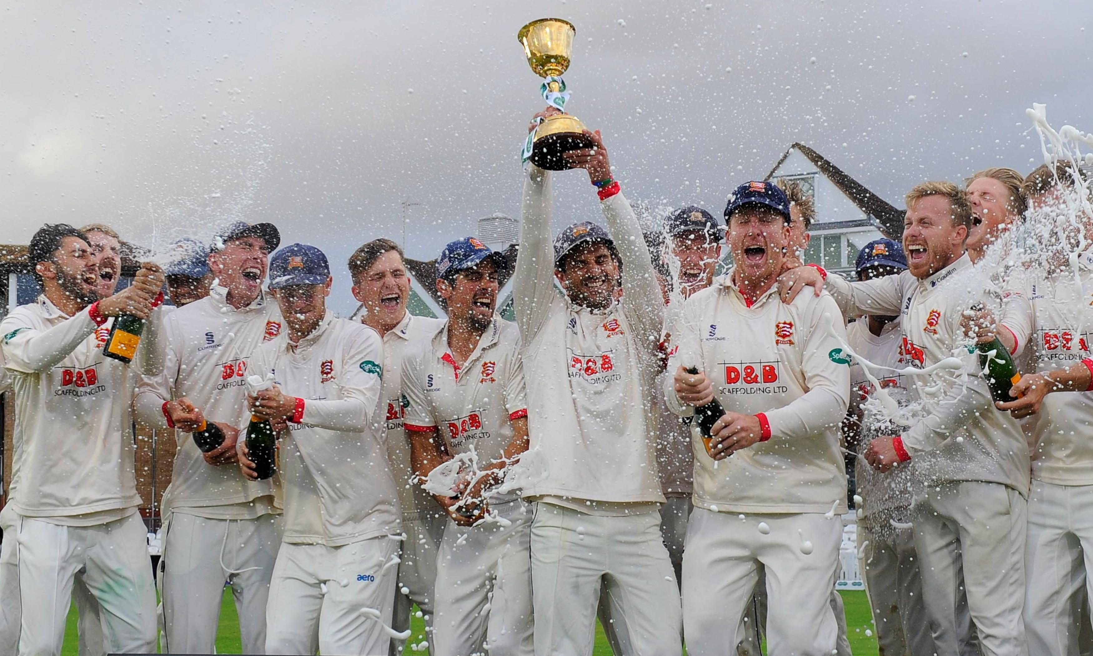 Alastair Cook steadies Essex nerves in County Championship triumph