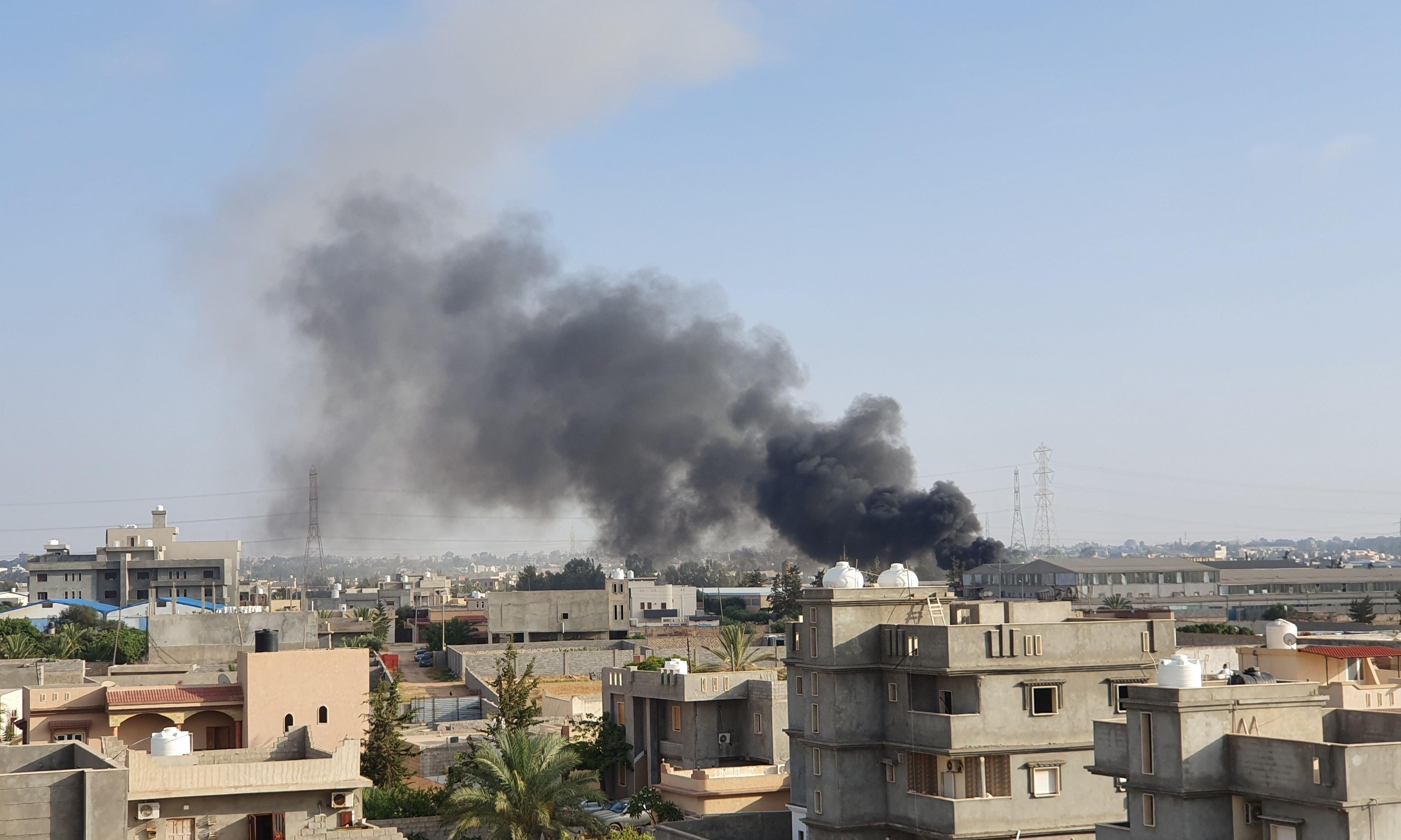 Libyan government forces capture key town from warlord