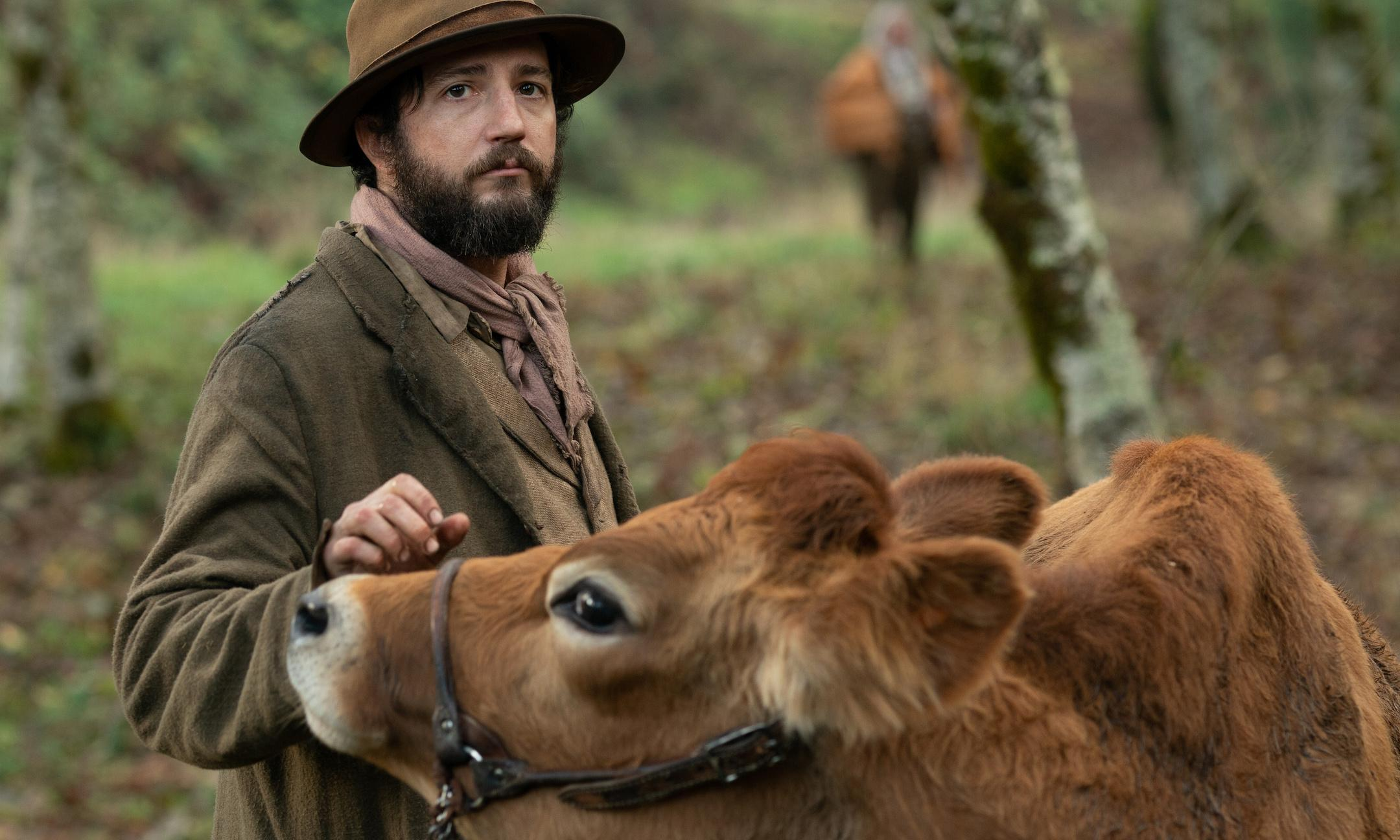 First Cow review – Kelly Reichardt's superbly chewy tale of milk cakes in the old west