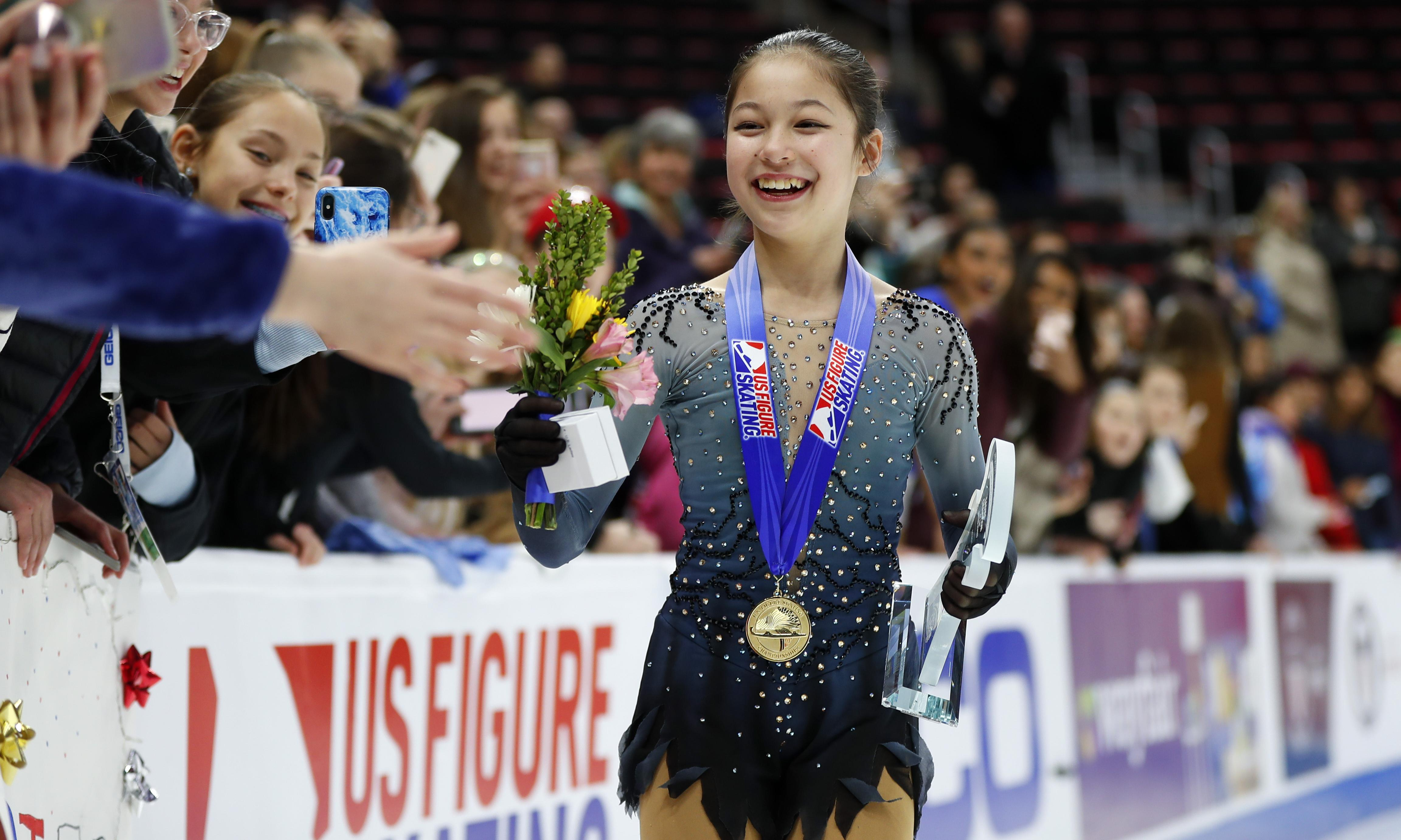 Alysa Liu's remarkable rise: is 13 too young to be an elite athlete?