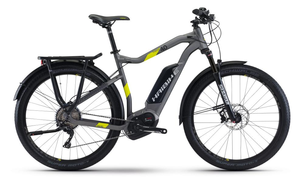 Road warrior: Haibike's Trekking is perfect for tracks and trails
