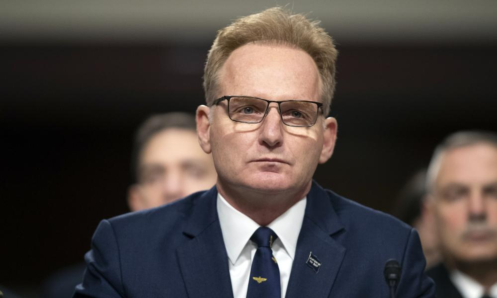 Navy Secretary Thomas Modly.