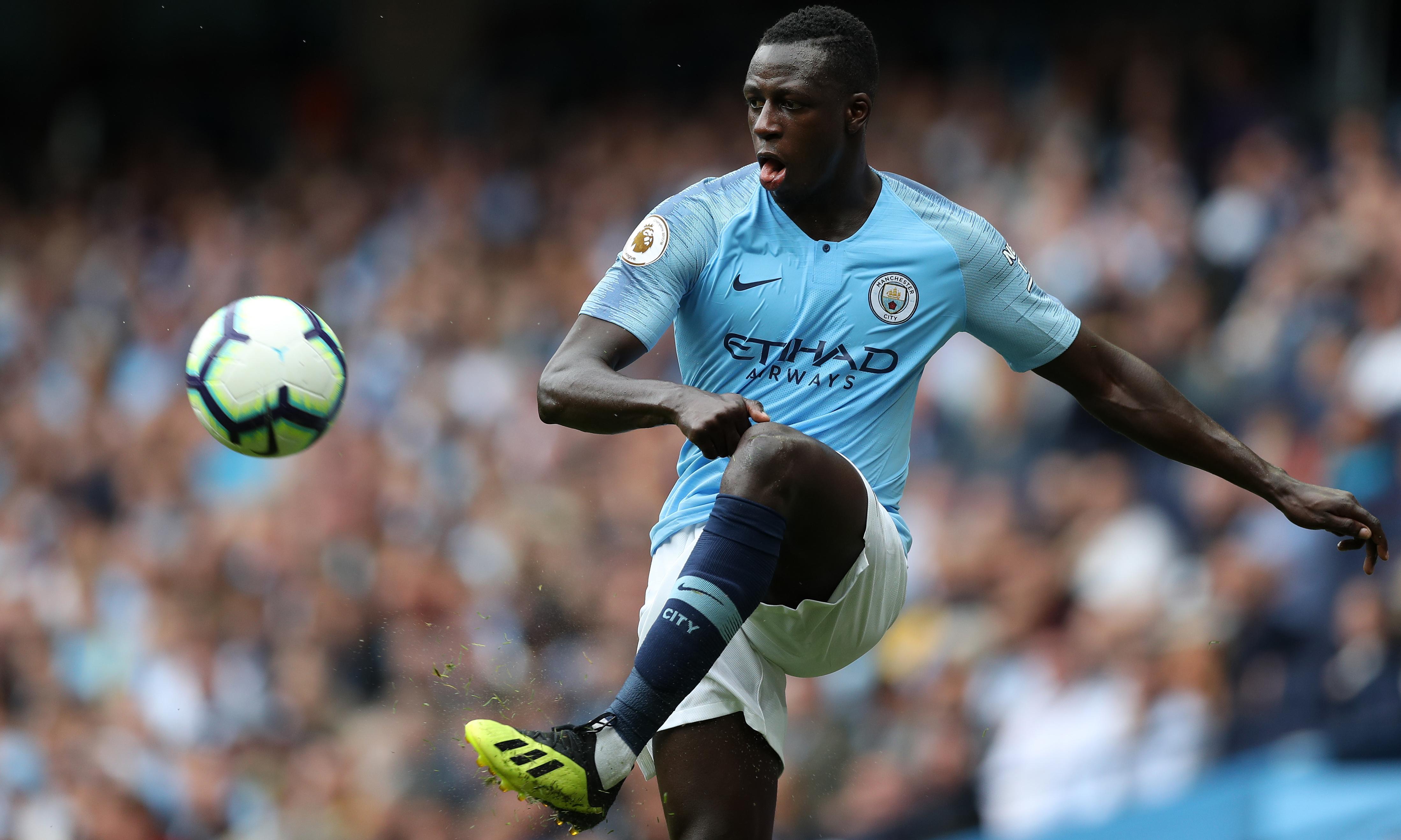 Benjamin Mendy could make Manchester City return against Burton