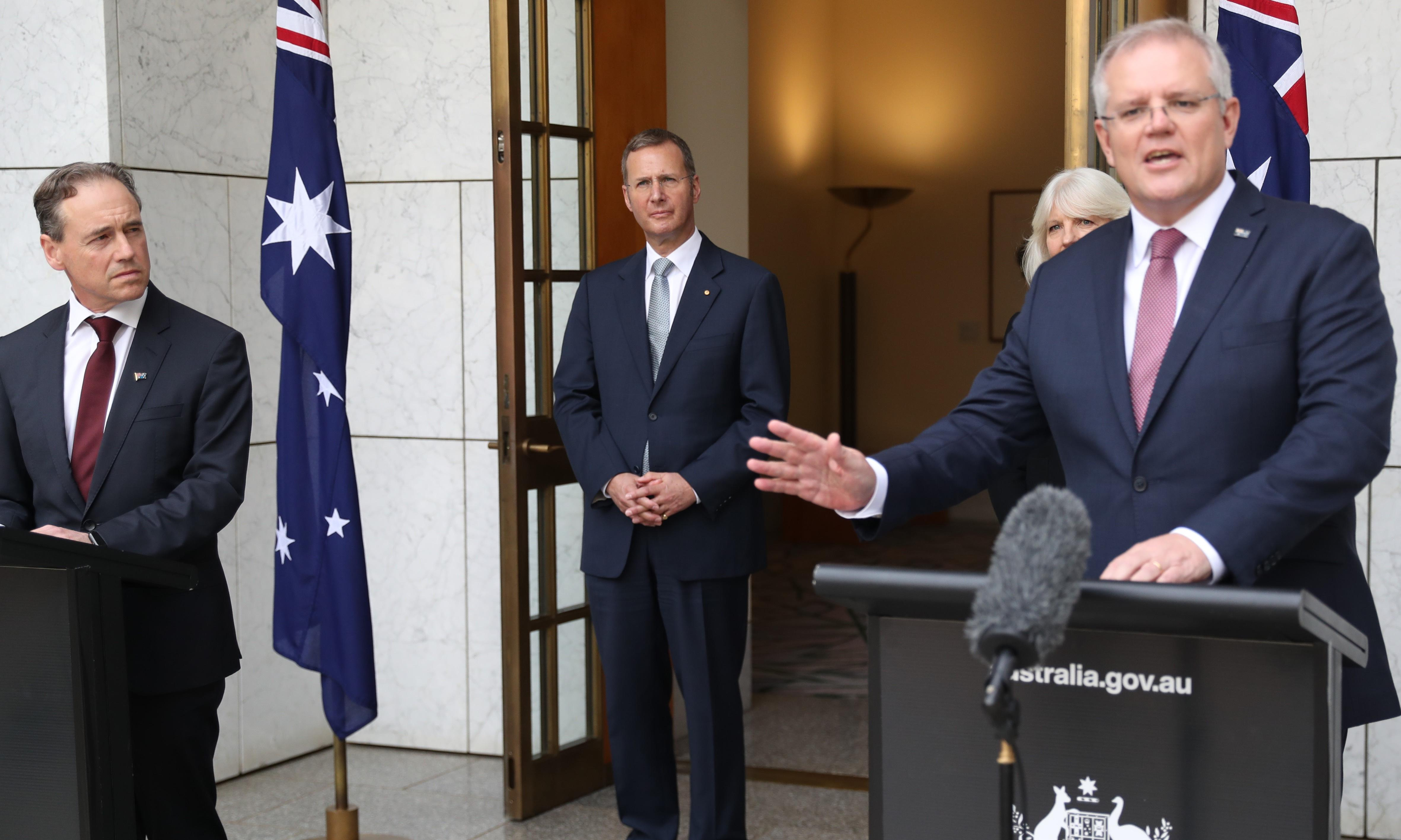 Scott Morrison offers coronavirus wage guarantee for those who have lost jobs, but details still to come