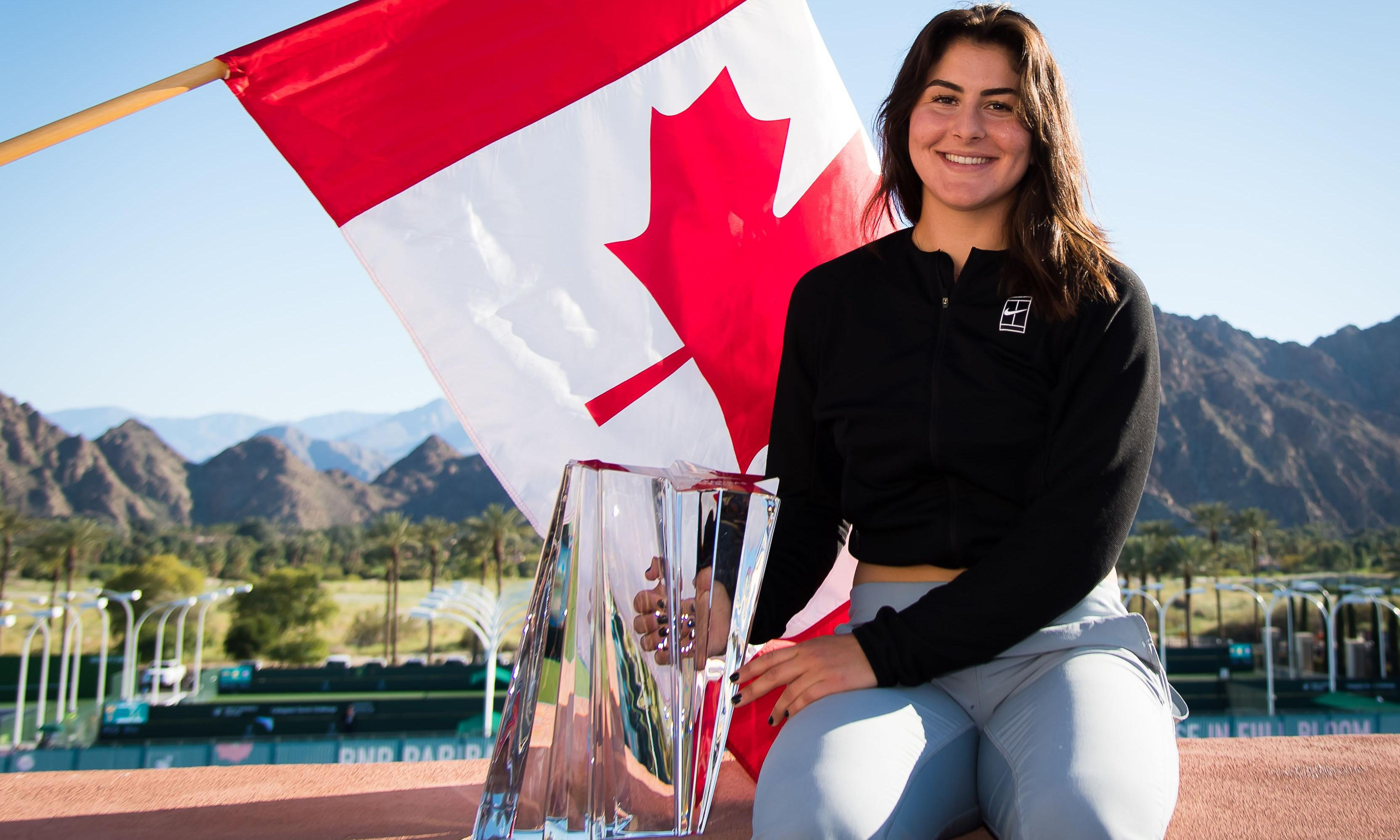 From toil to triumph in 12 months: the remarkable rise of Bianca Andreescu