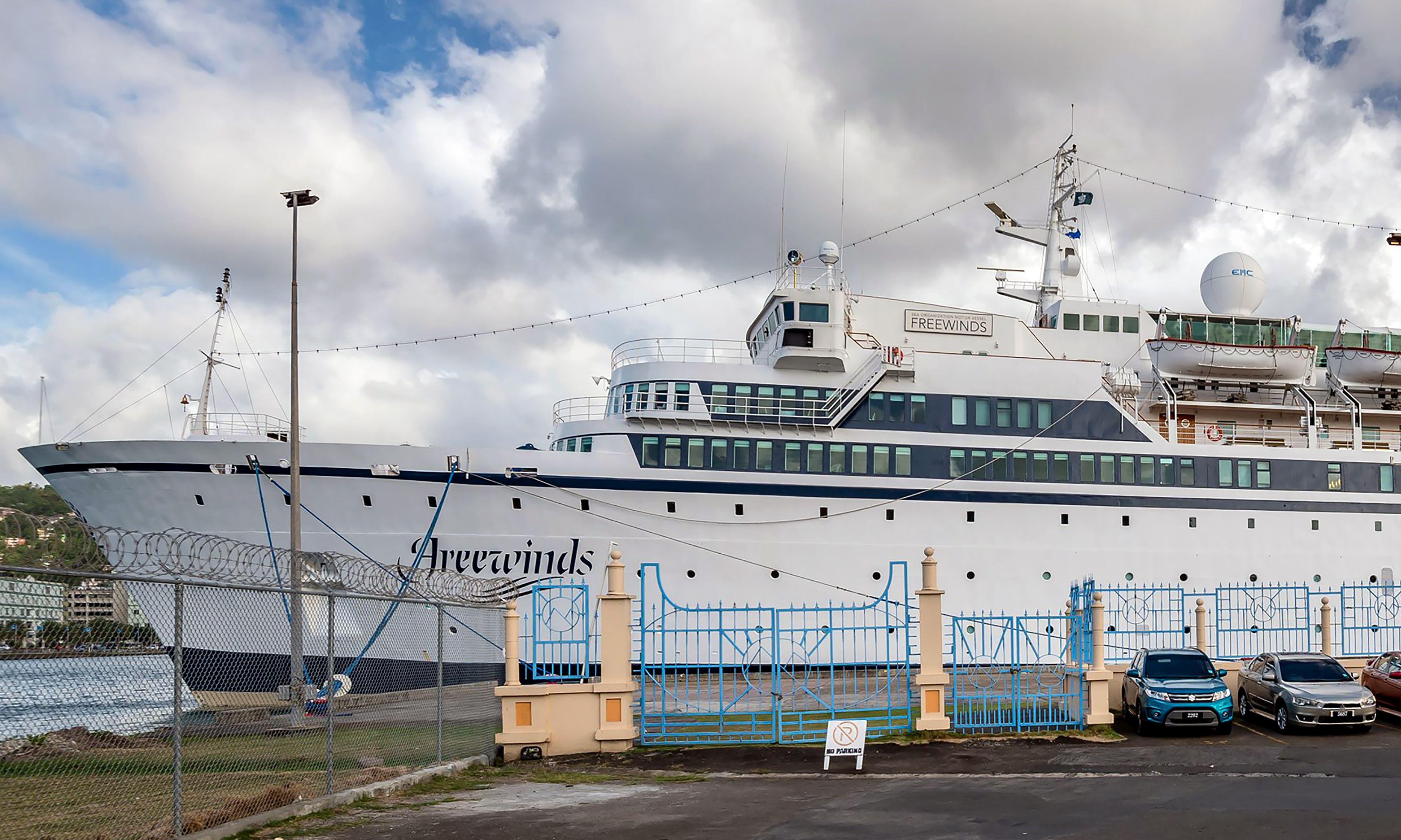 Scientology ship remains under measles quarantine in Caribbean scare