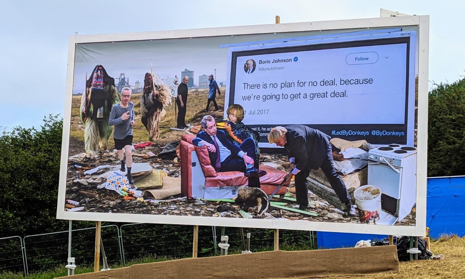 'Unwanted': Glastonbury festival's message to Boris Johnson