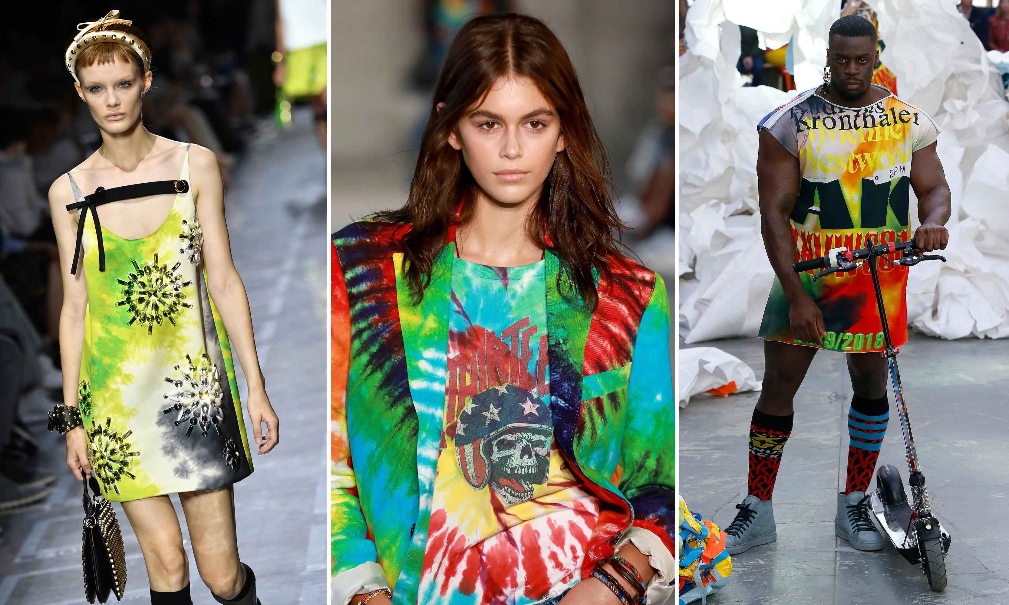 Grateful threads? Get ready for fashion's tie-dye revolution