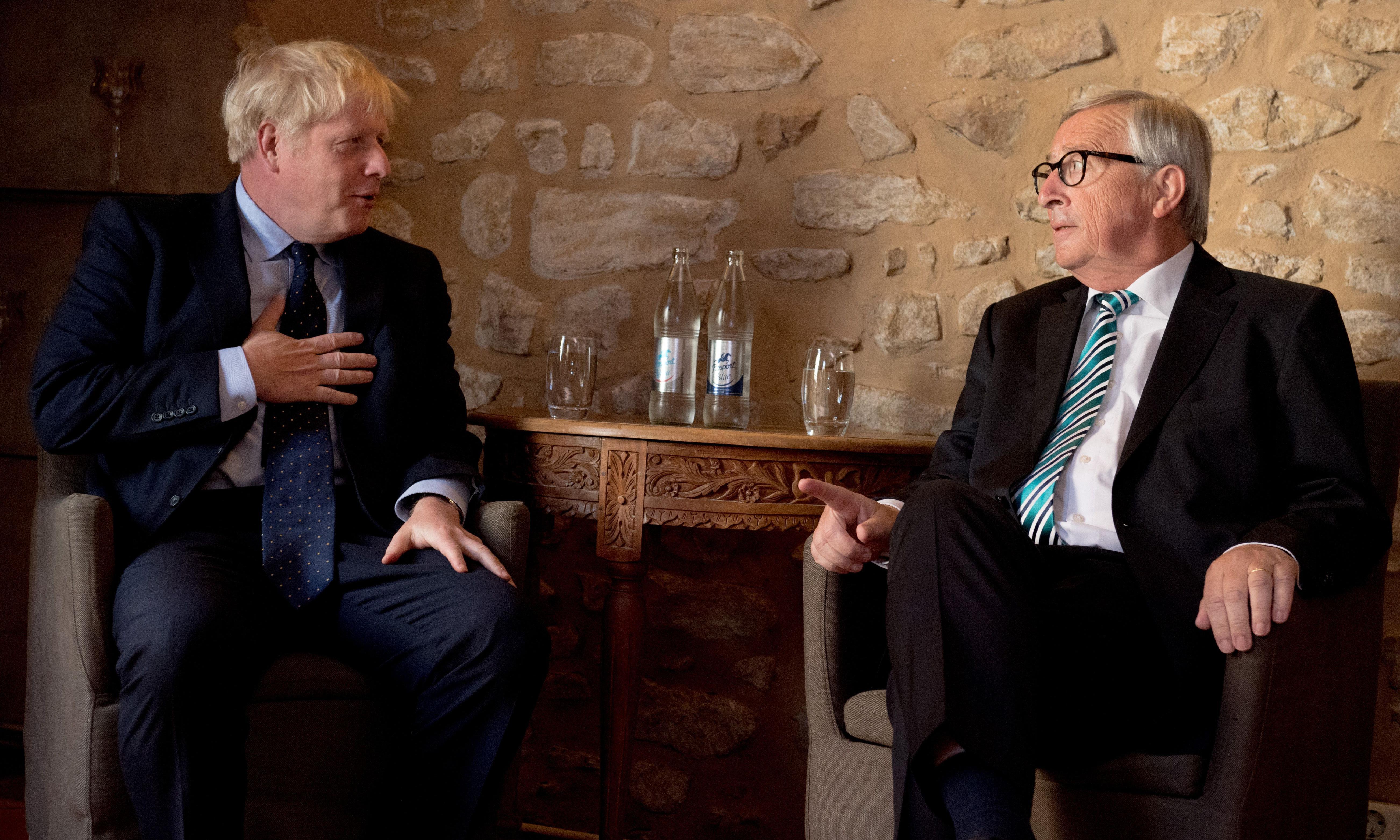Boris Johnson 'surprised' by level of Irish border checks