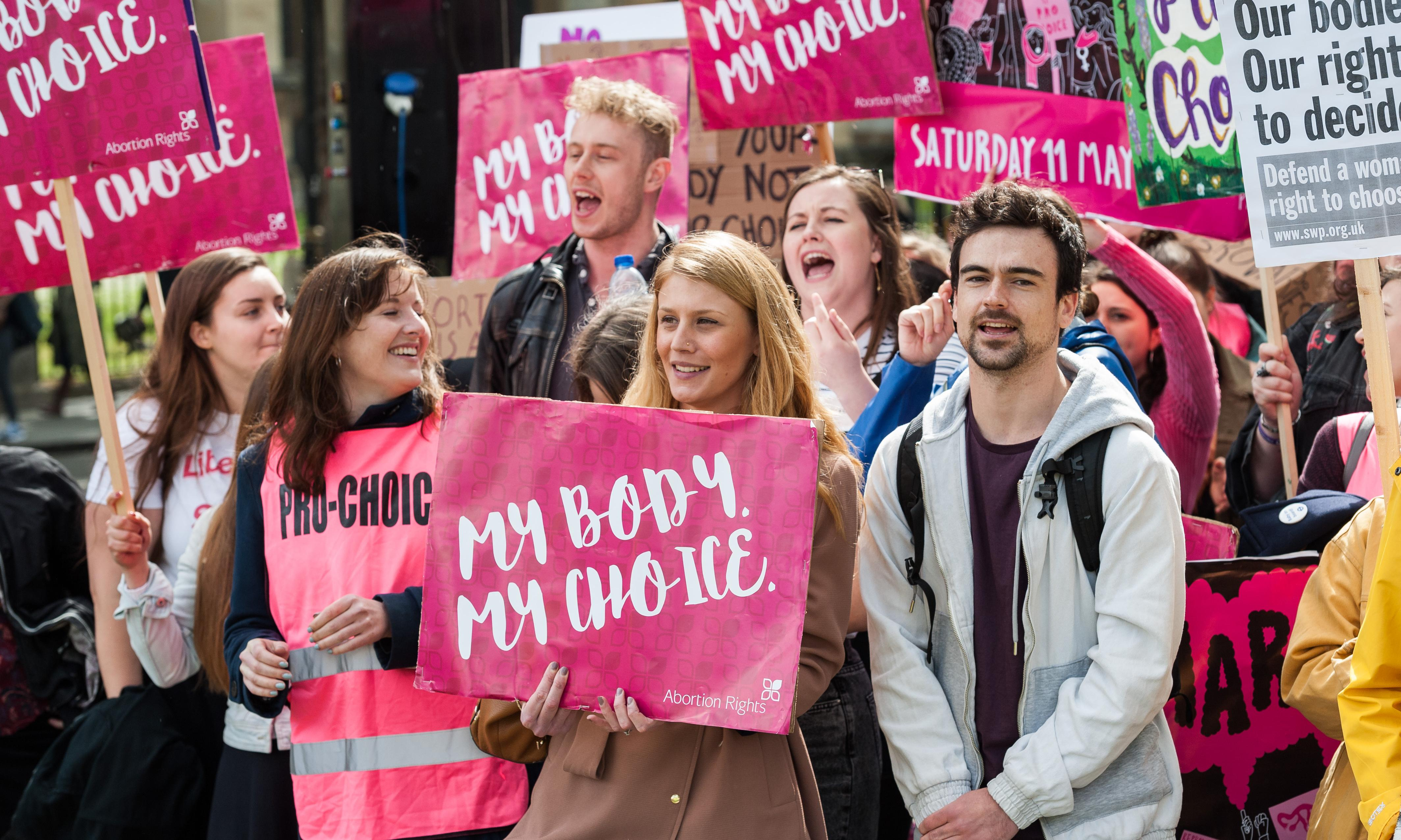 It shouldn't be left to women to fight alone for abortion rights