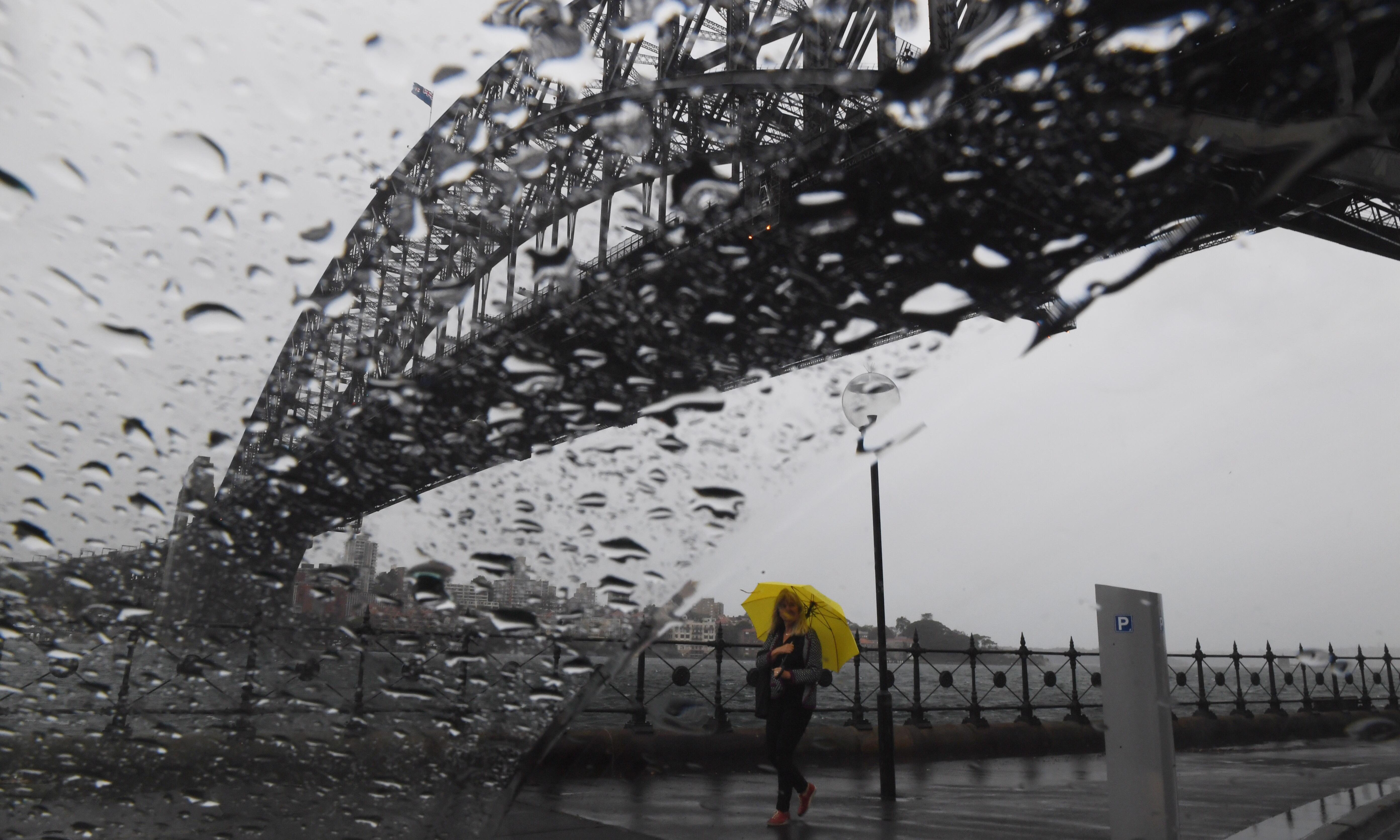 Sydney storms: 55,000 city and central coast properties left without power