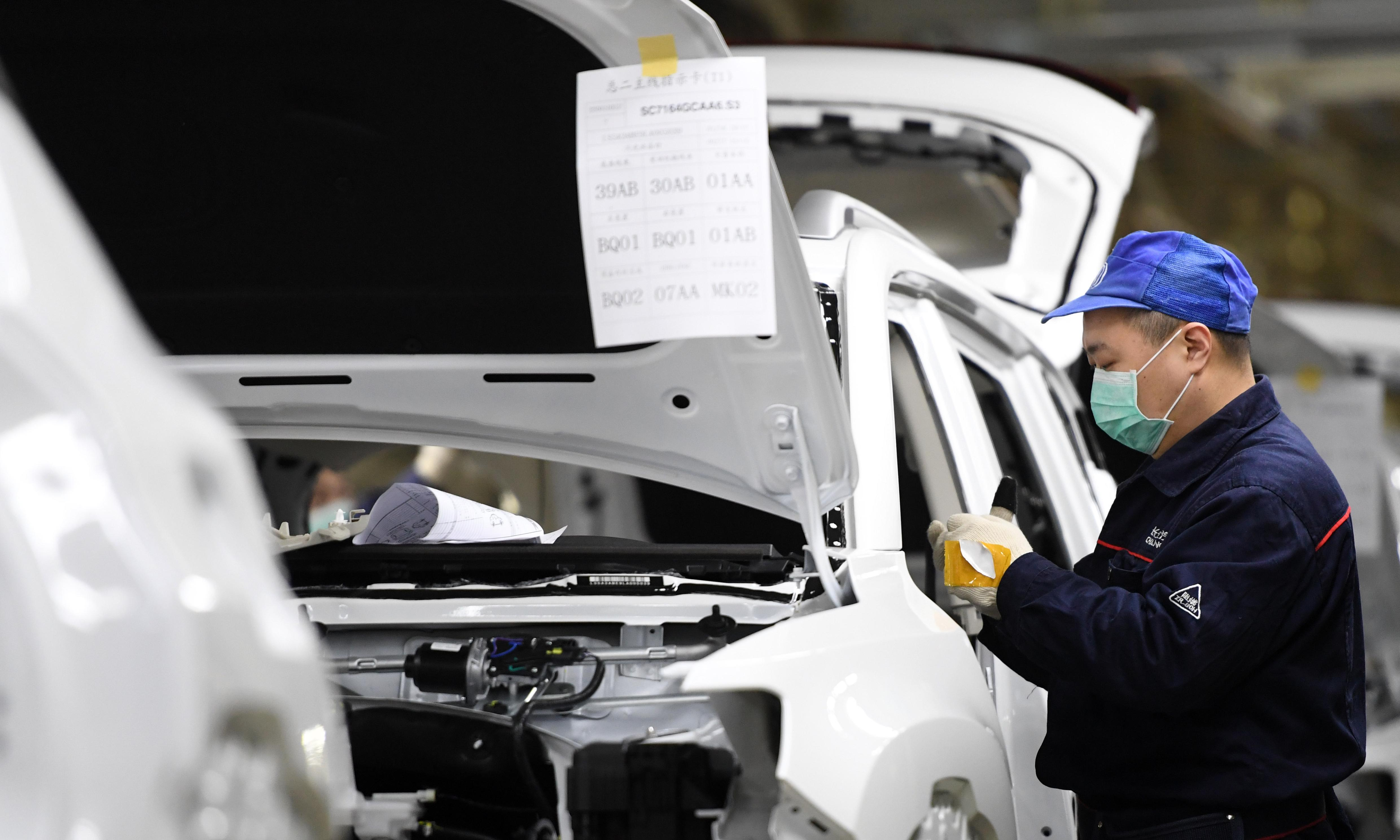 China car sales tumble by 92% as coronavirus weighs on industry