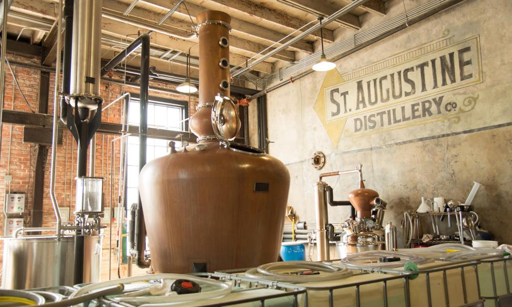St Augustine calvados distillery