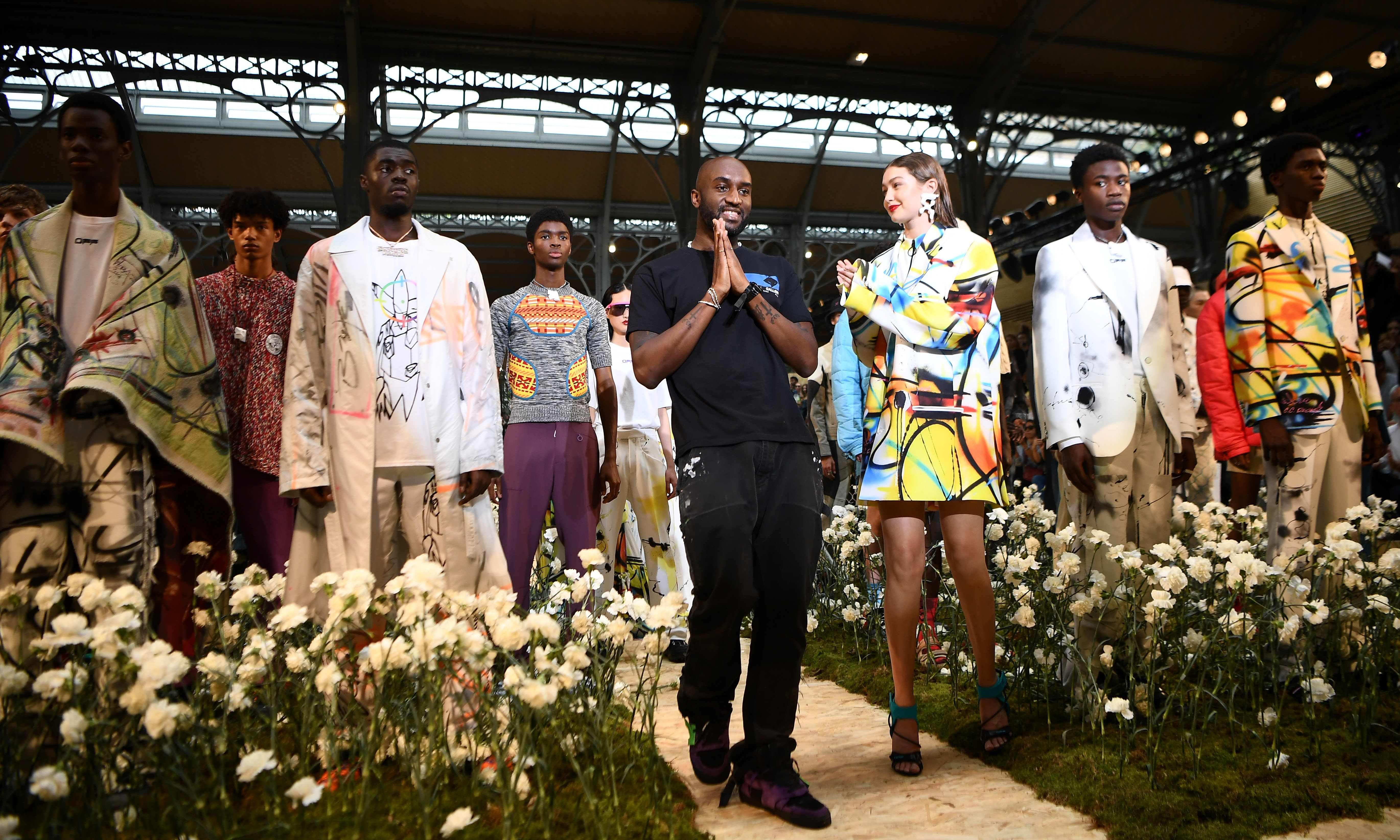 Virgil Abloh draws from 1980s graffiti culture for Off-White show