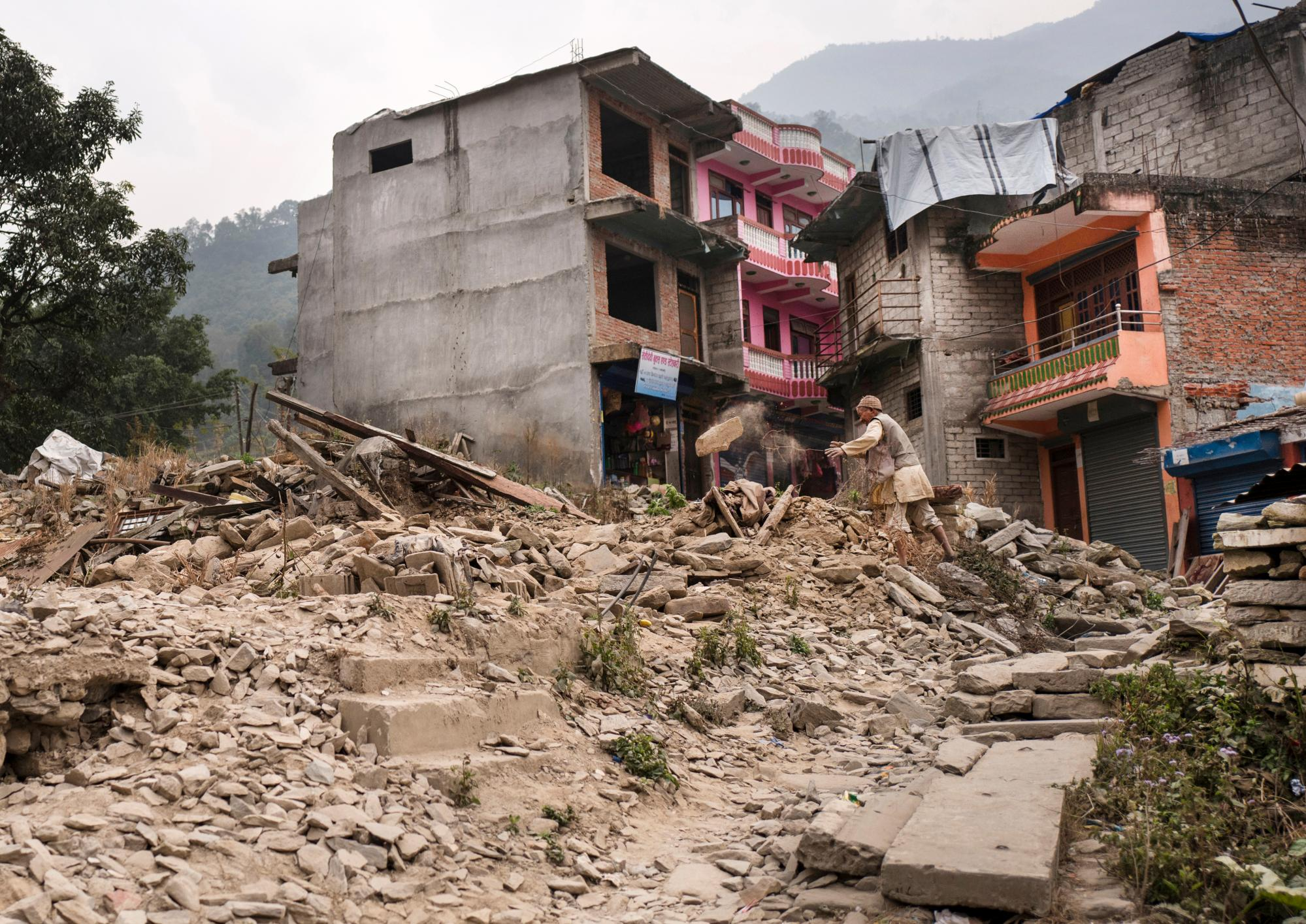 Stories of survival and hope after Nepal's earthquake
