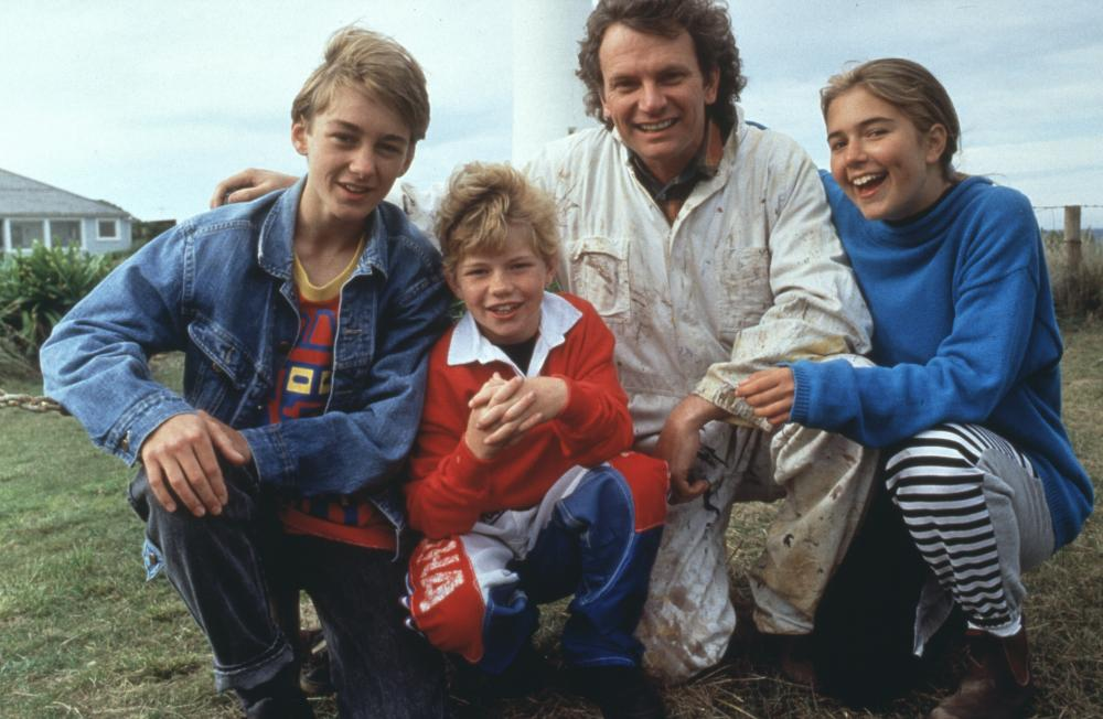 A still from the original TV series of Round the Twist.