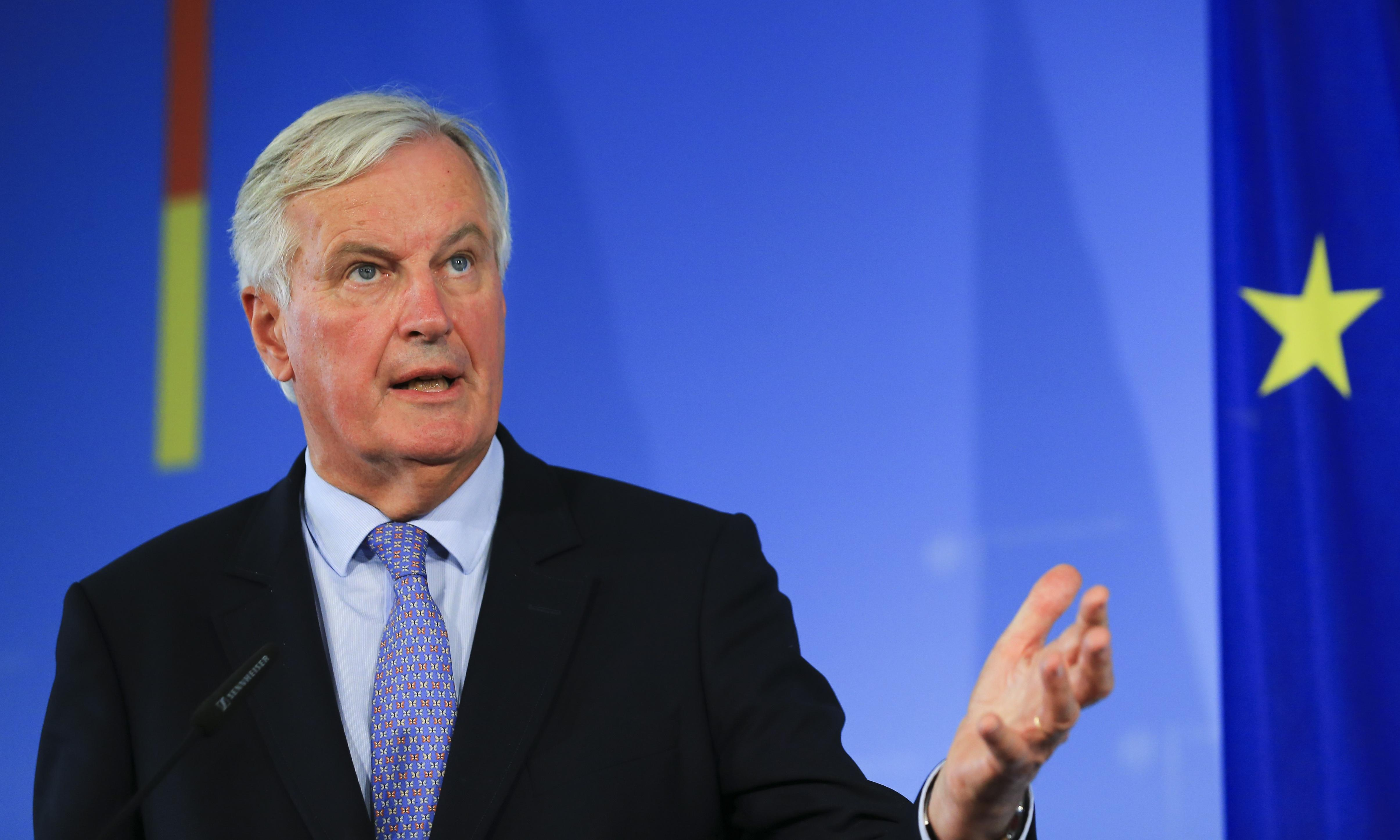 EU's chief negotiator calls Johnson's backstop solution 'unacceptable'