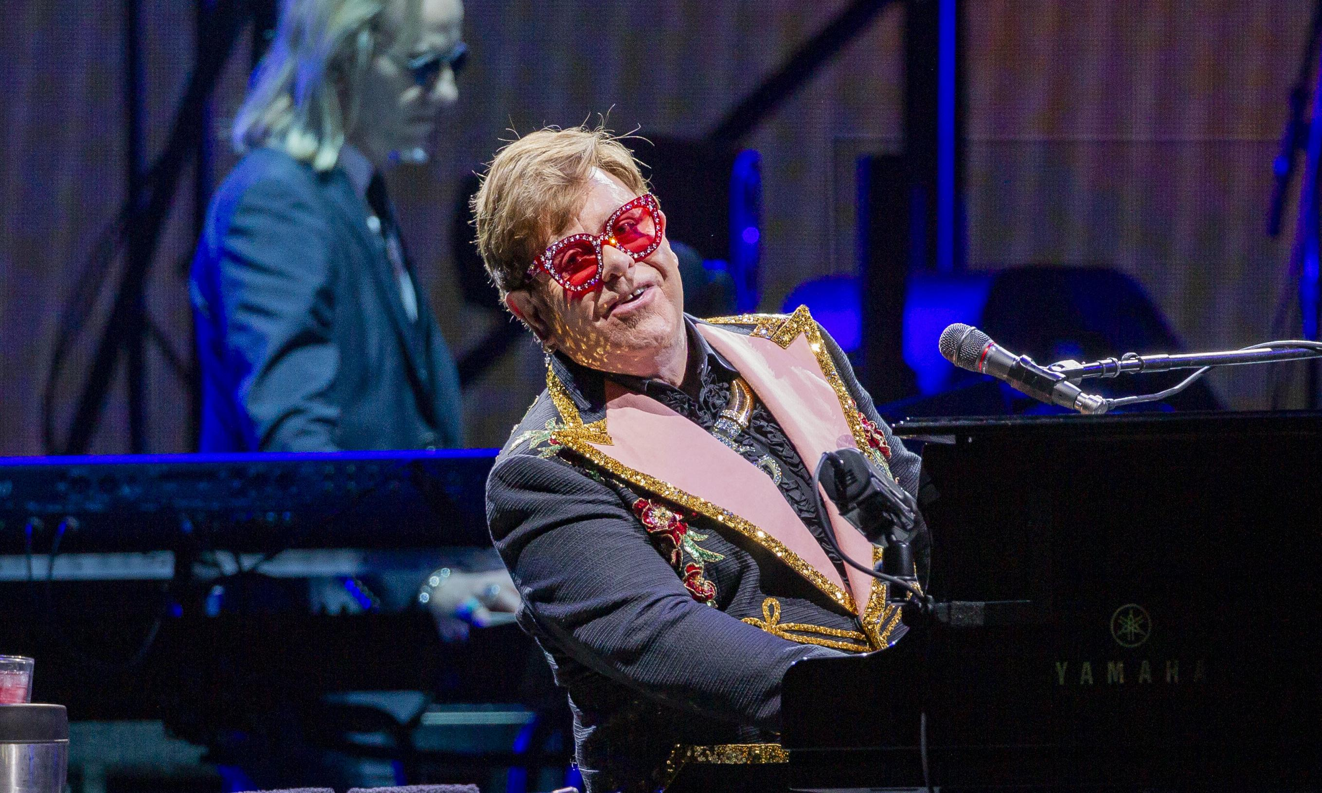 Elton John review – emotional and rousing, this is a grand but heartfelt farewell