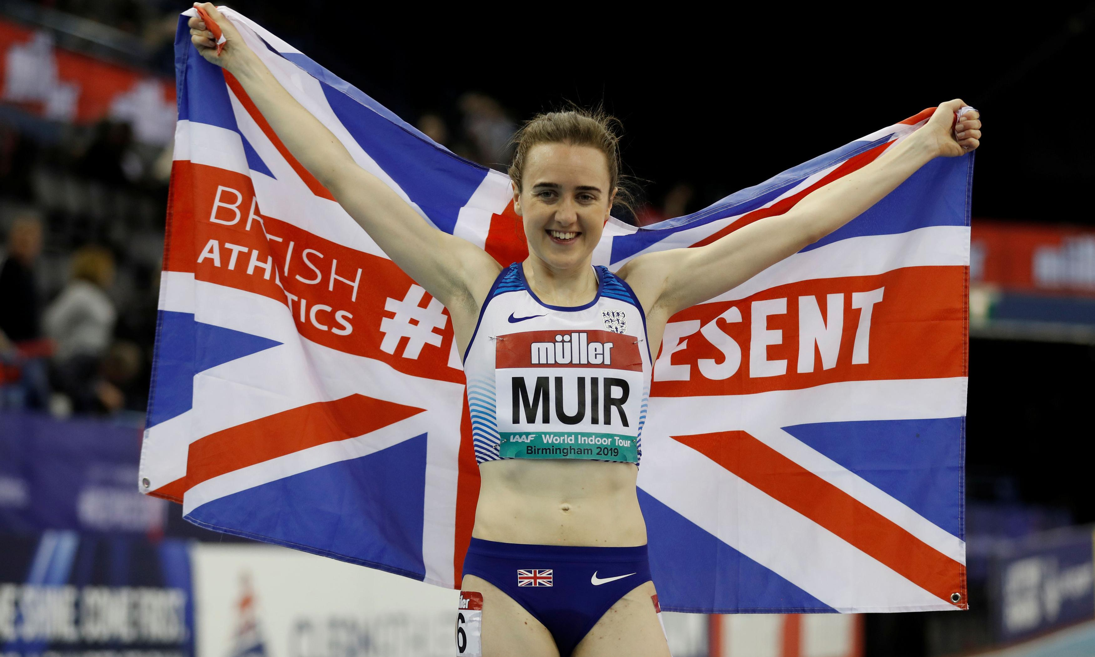 Laura Muir smashes Kirsty Wade's 31-year-old British indoor mile record