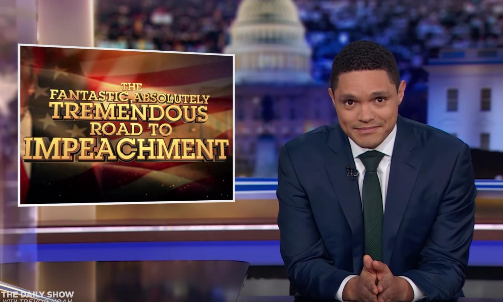 Trevor Noah on Trump: 'You don't need to be explicit to set up a shady deal'