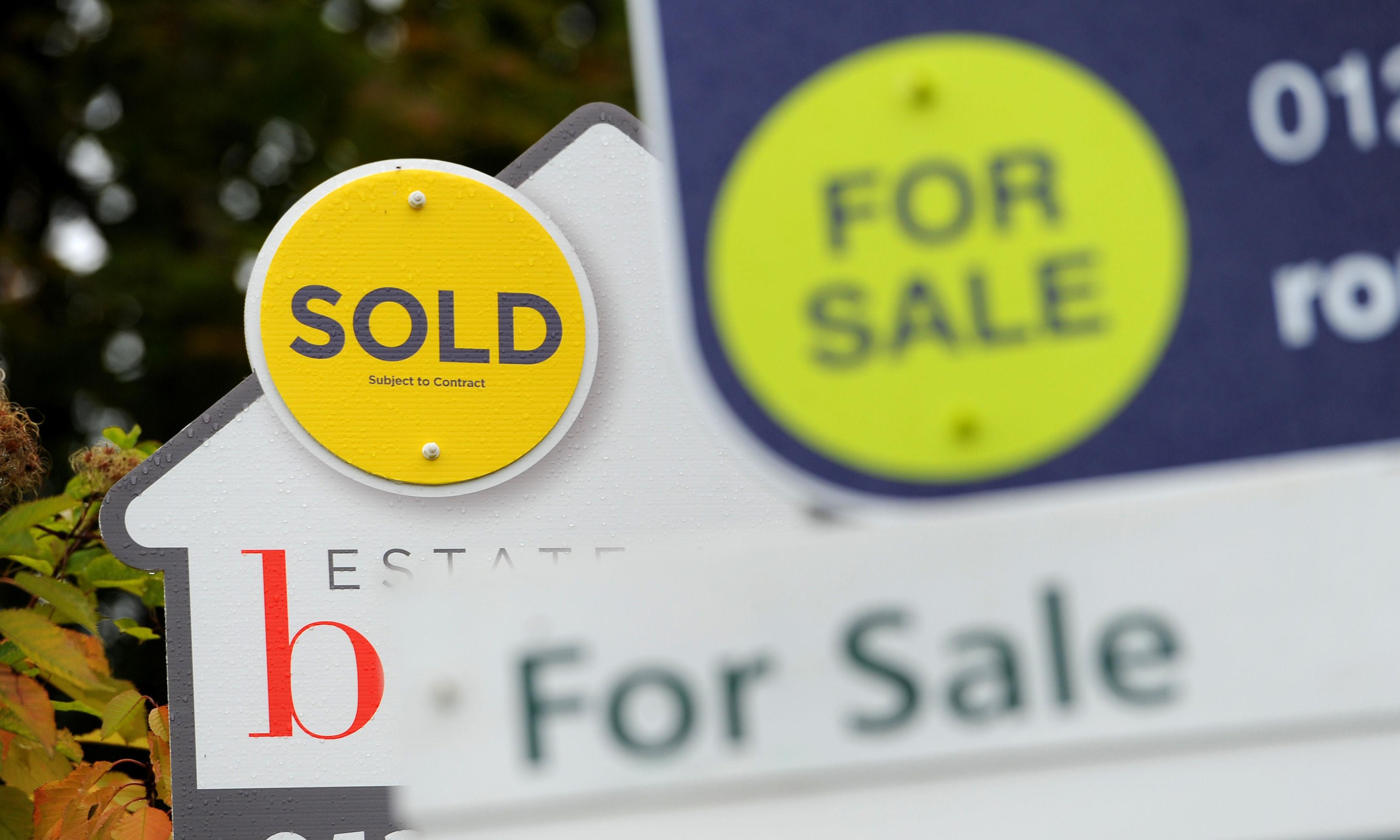 Brexit uncertainty triggers first September fall in house prices since 2010