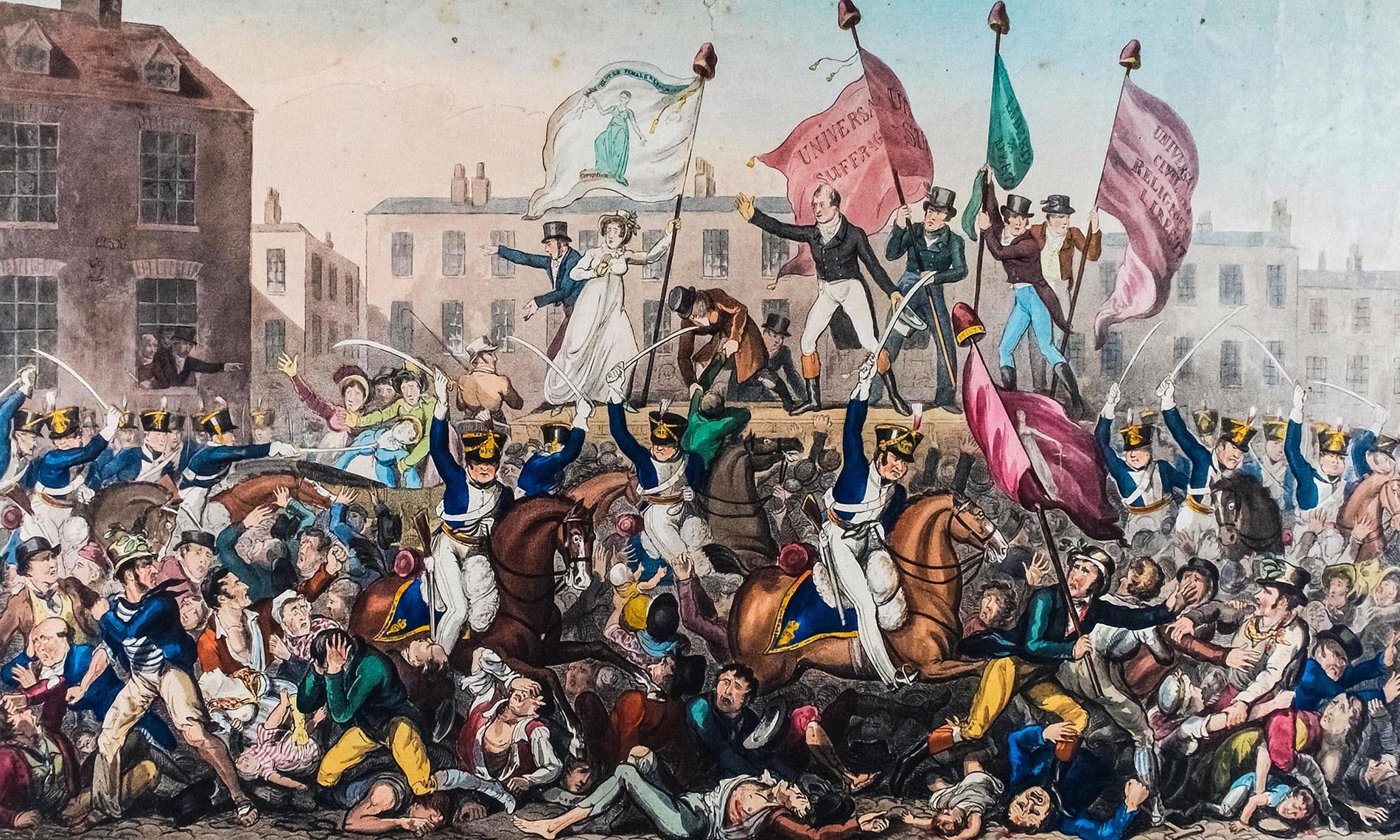 'There's a resonance with today – Peterloo is still with us'