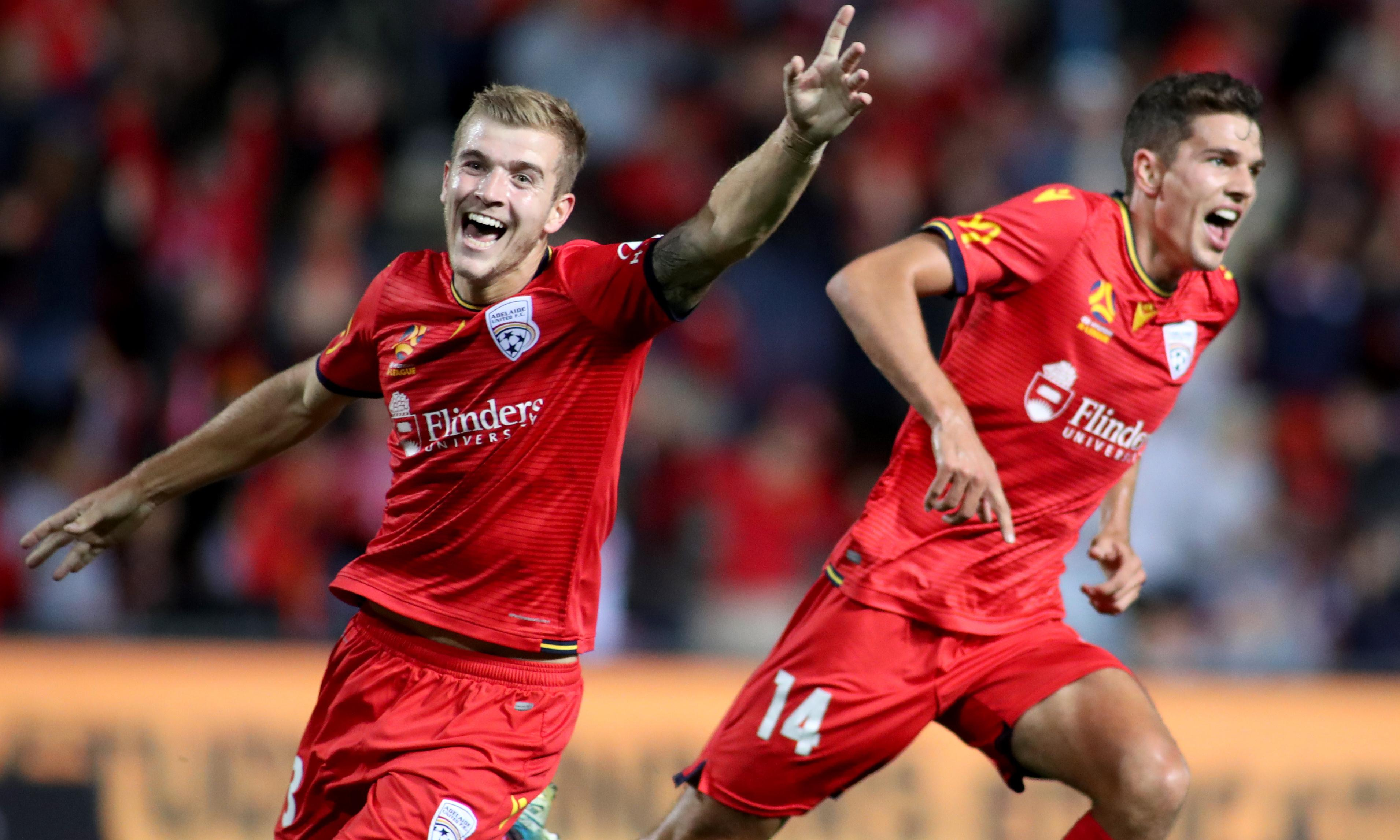 Adelaide United set pulses racing on A-League date night