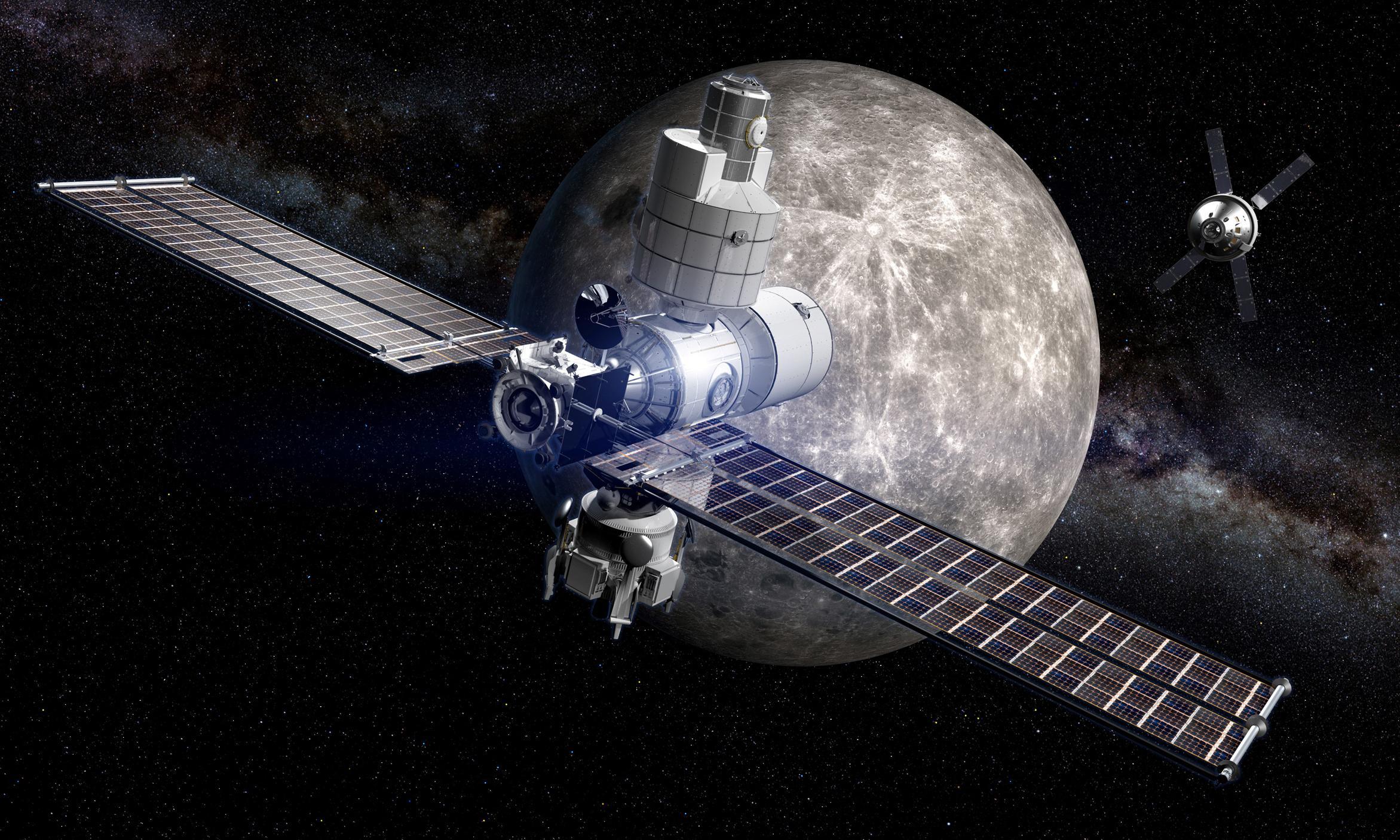 The lunar gateway: a shortcut to Mars?