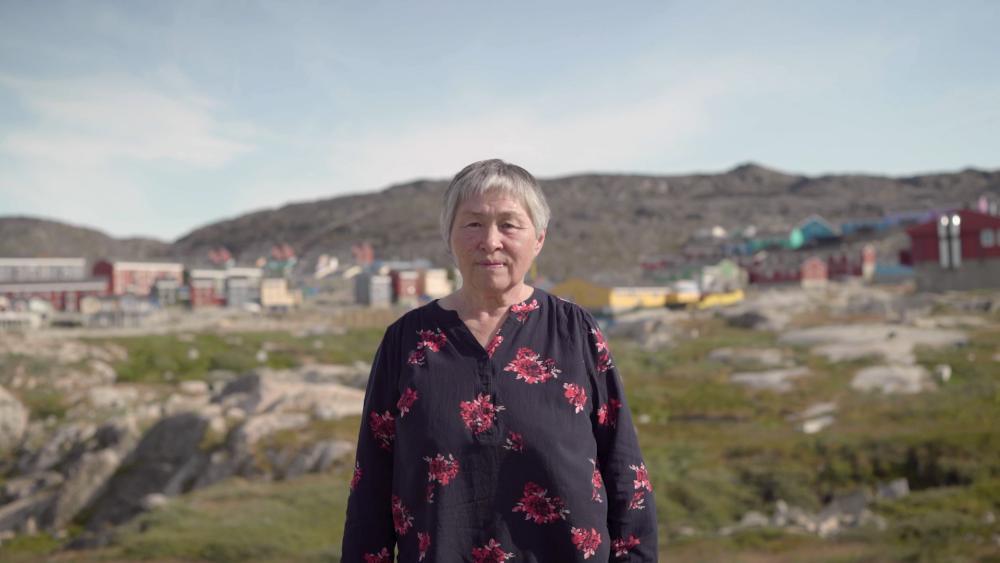 Astrid Olson, a health worker in Ilulissat, Greenland