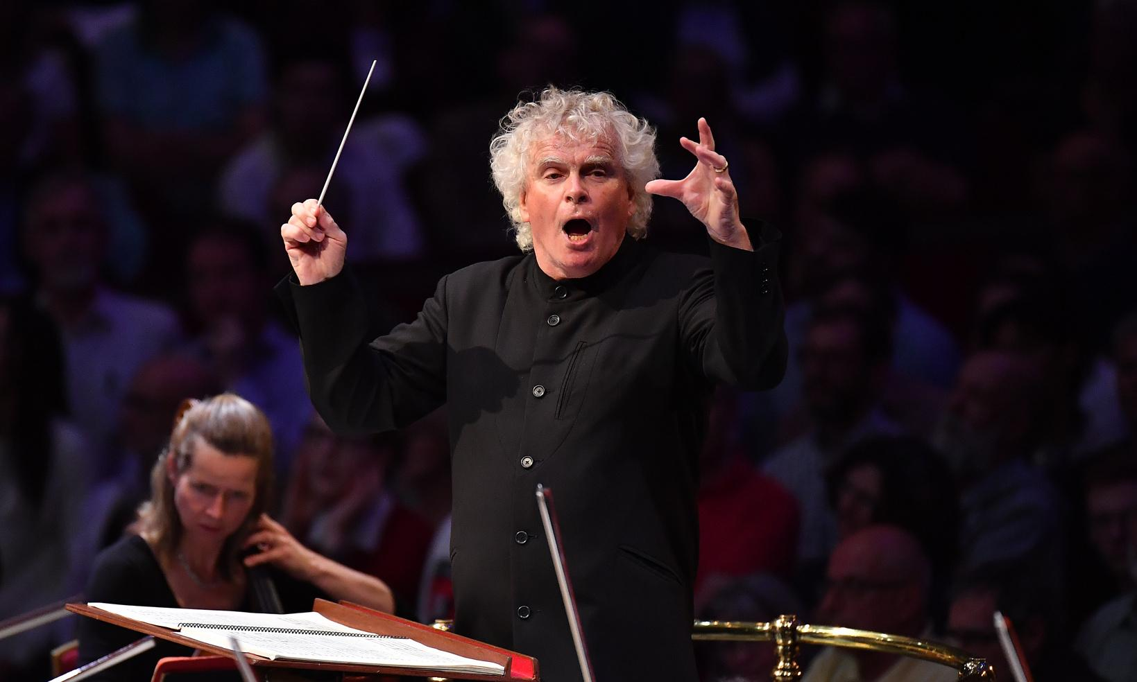 Prom 44: LSO/Rattle review – Jungle Book-inspired scherzo delivered with verve