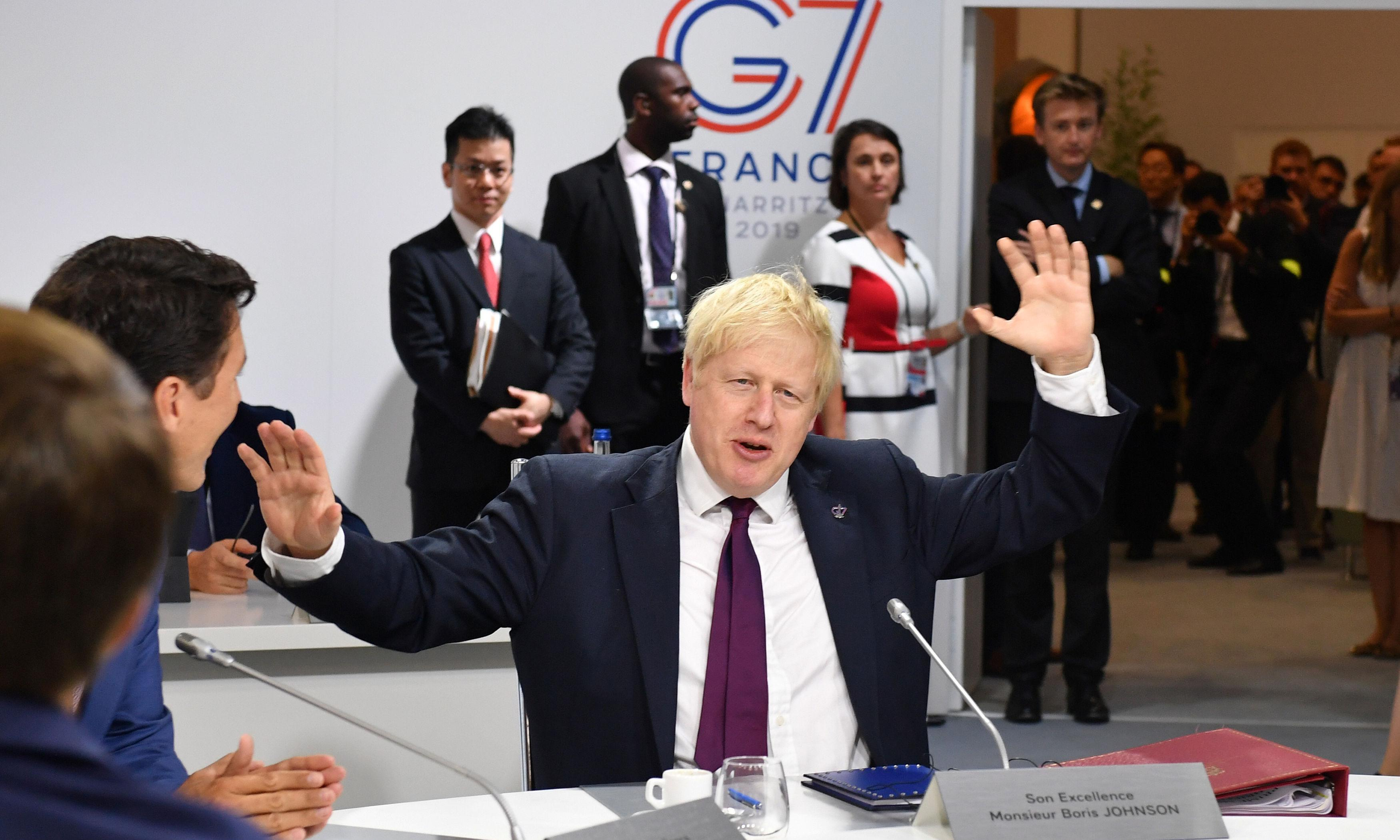 Britain can easily cope with no-deal Brexit, claims Boris Johnson