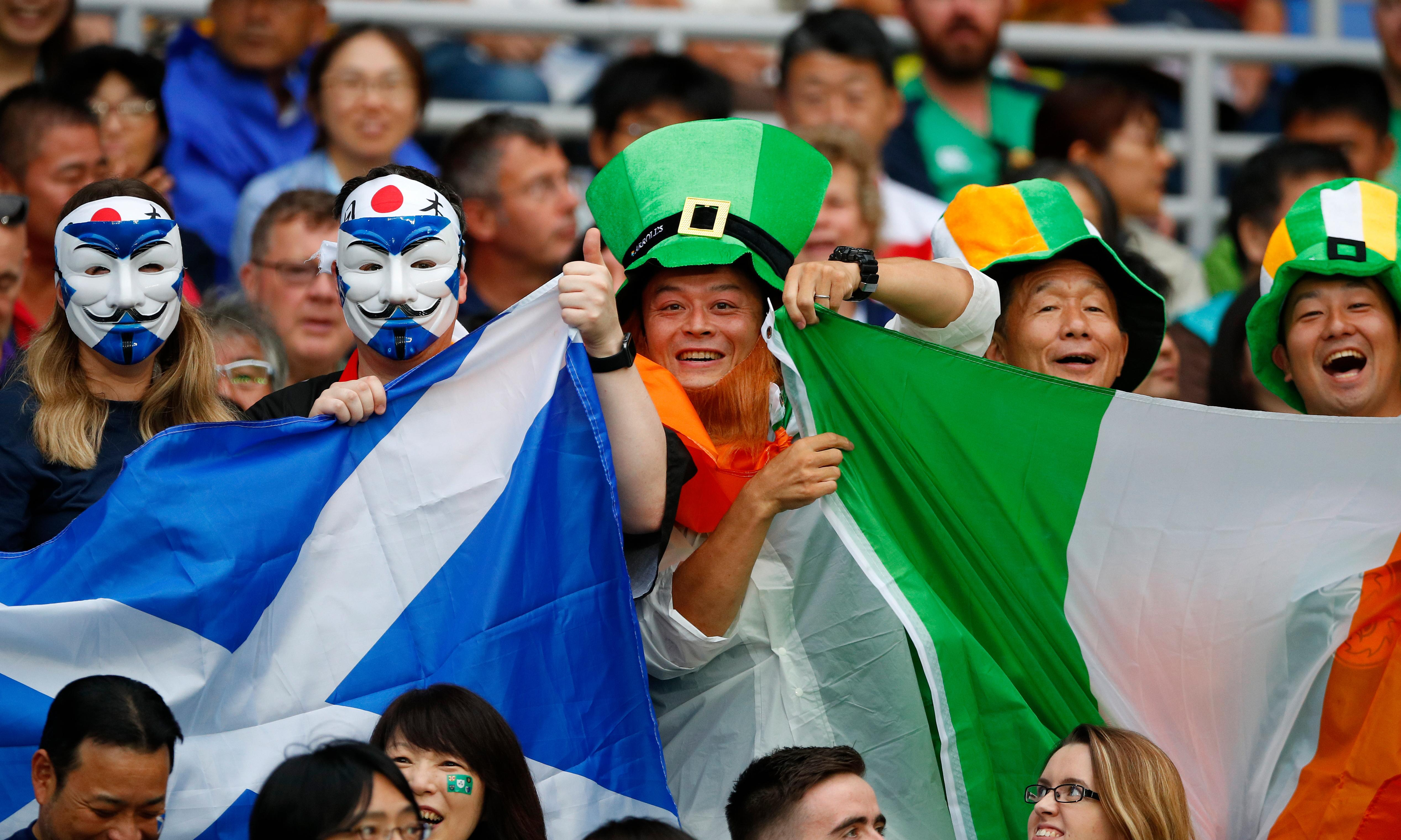 Dizzying, delightful and disorientating: the Rugby World Cup is up and running